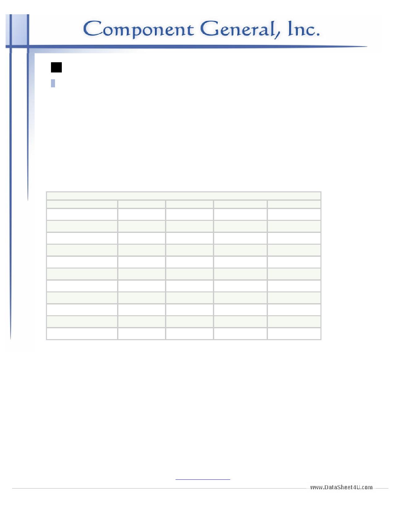 CFT-10SF datasheet