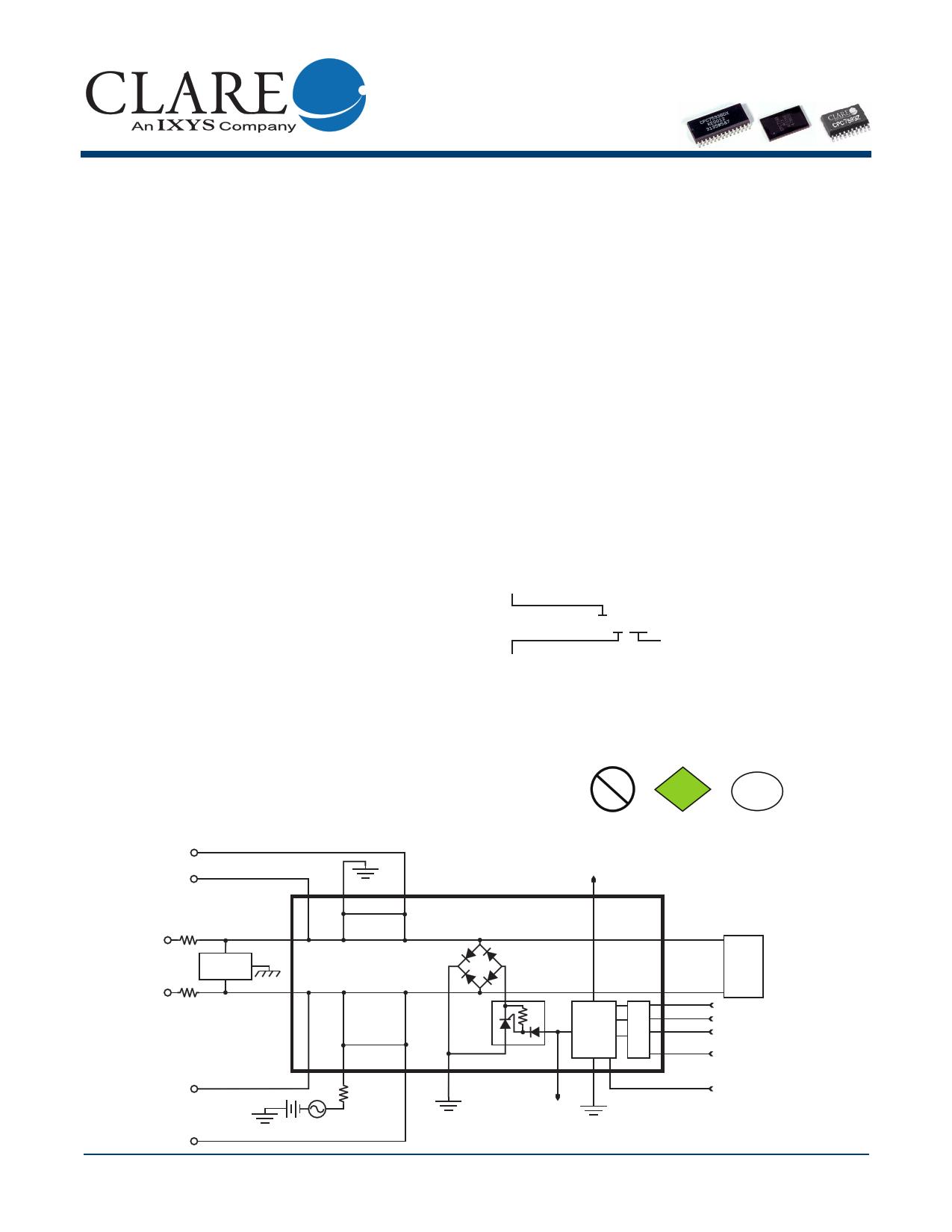 cpc7593 datasheet pdf   pinout