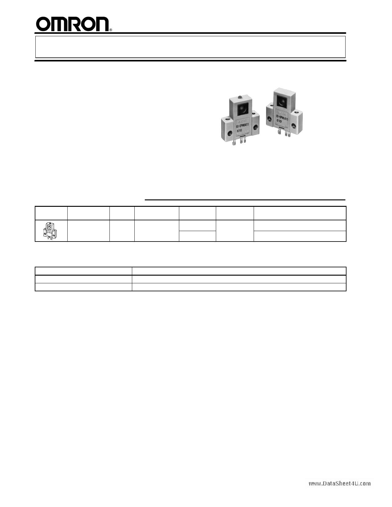 EE-SPW311 دیتاشیت PDF