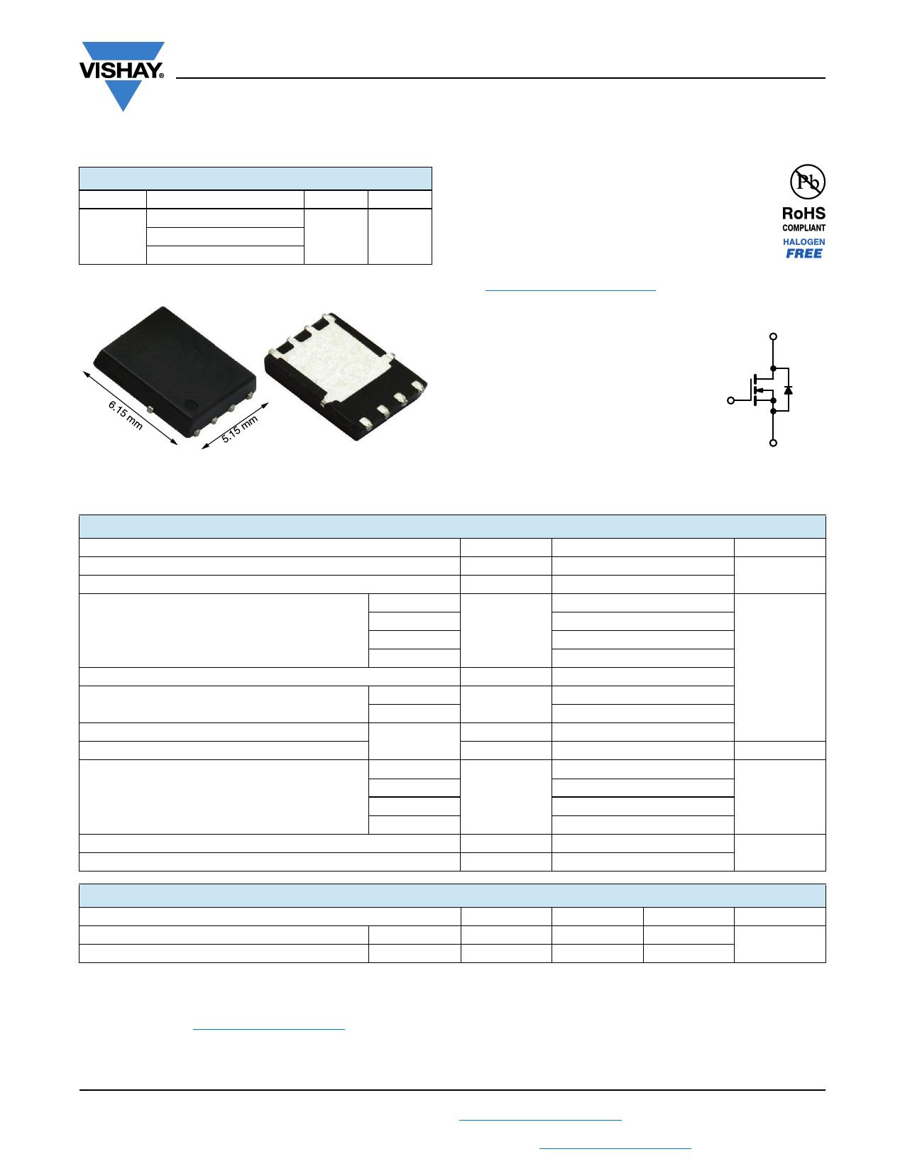 SIR662DP datasheet