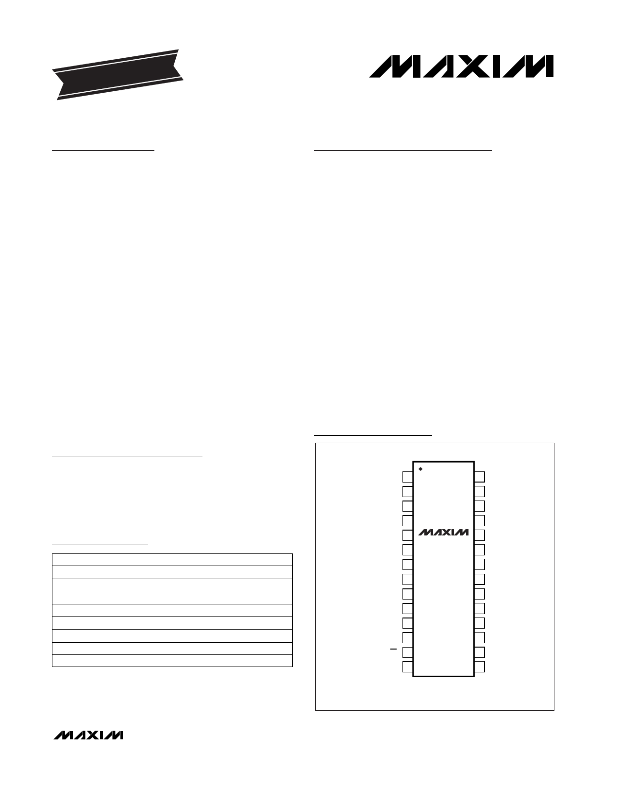 max4570cai  u30c7 u30fc u30bf u30b7 u30fc u30c8 pdf   dual 4x2