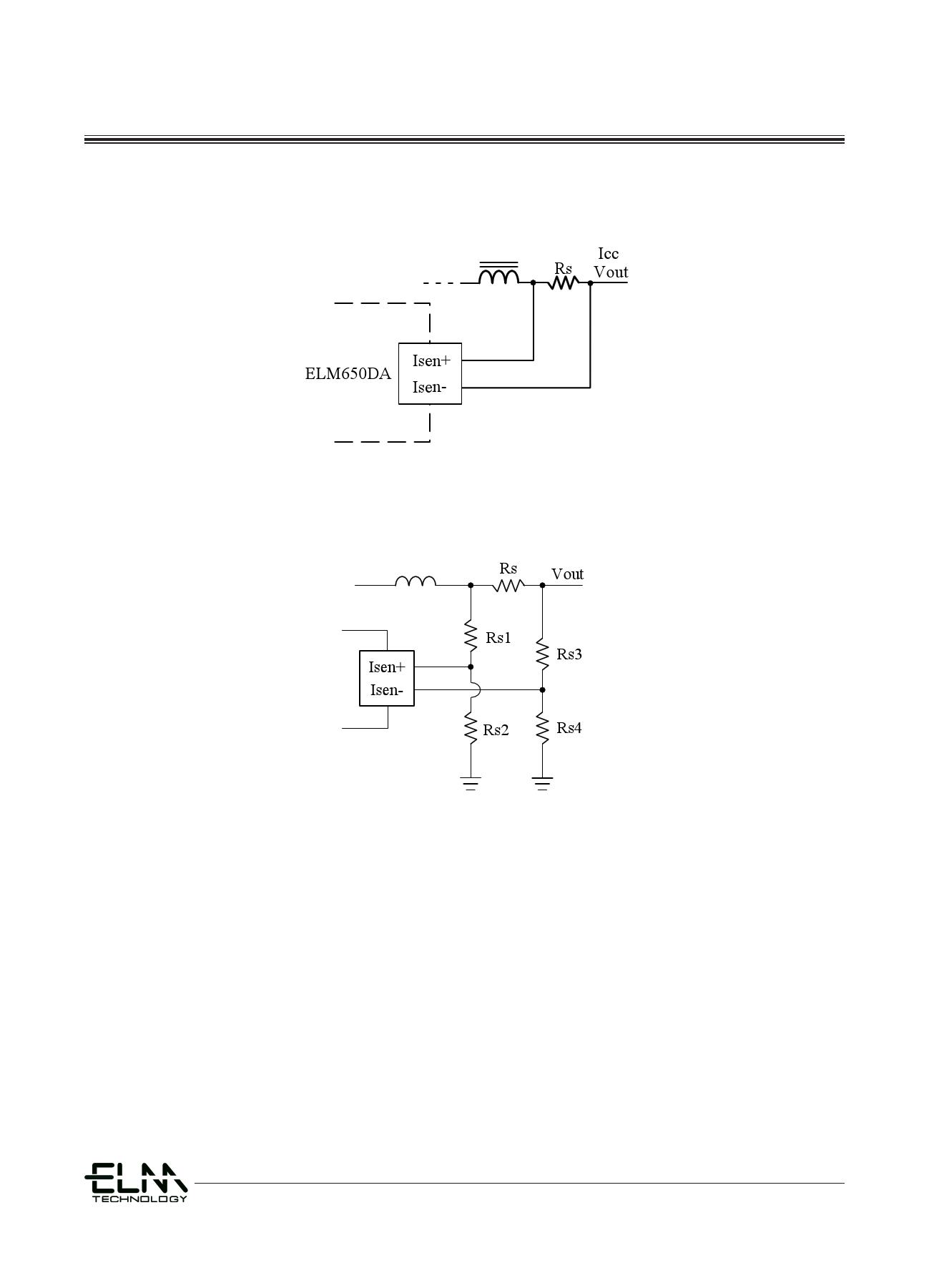ELM650DA 電子部品, 半導体