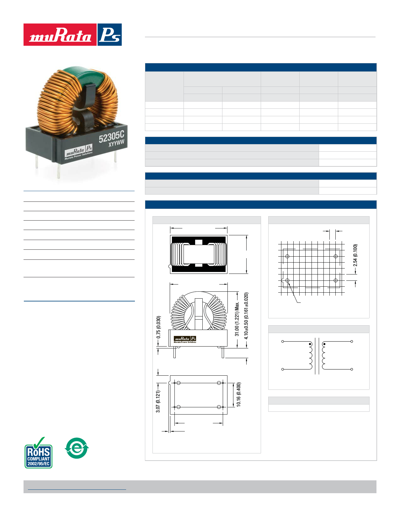 52305C Datasheet, 52305C PDF,ピン配置, 機能