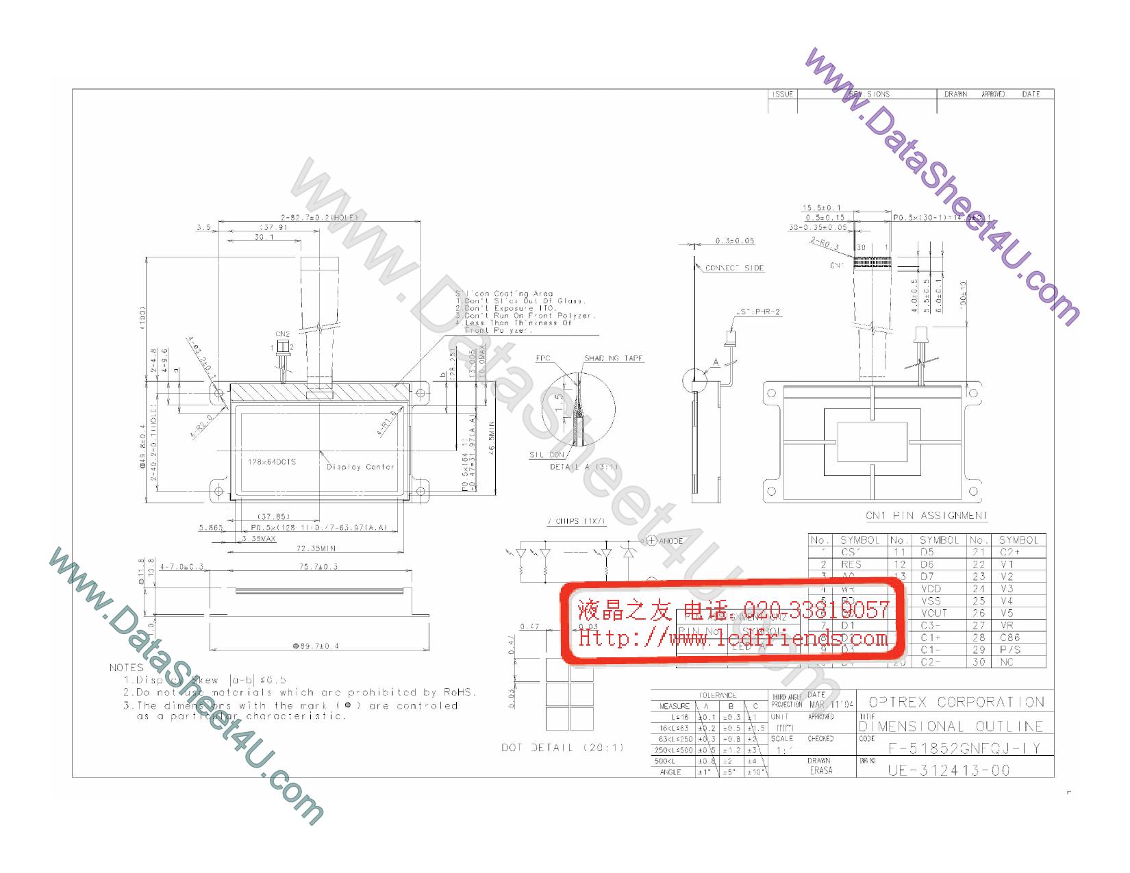 F-51852GNFQJ-LY دیتاشیت PDF