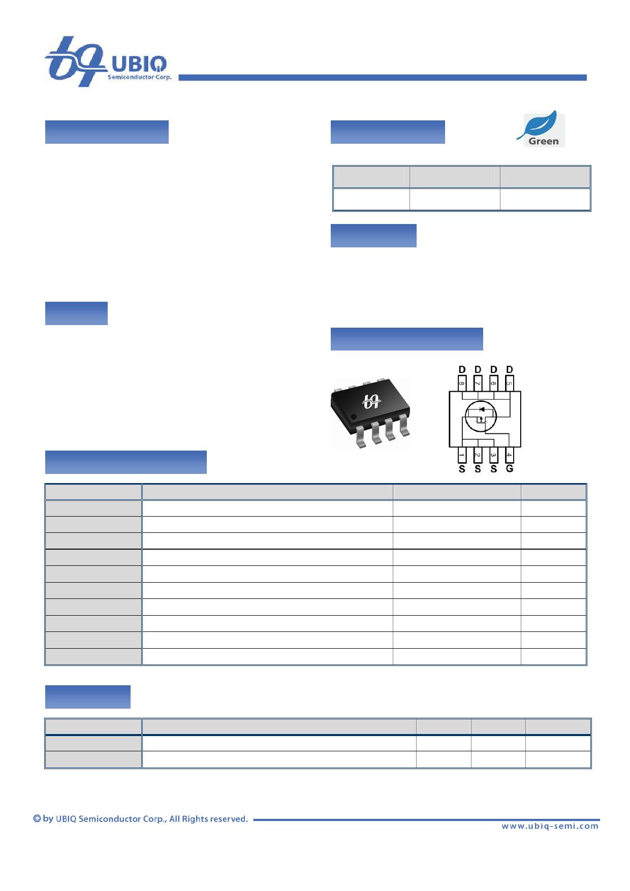 QM3001S Datenblatt PDF