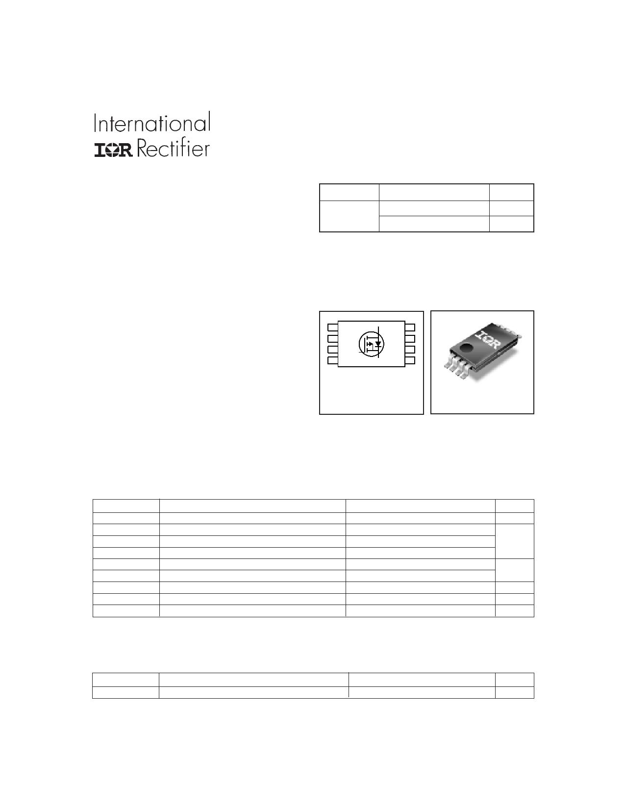 IRF7704 دیتاشیت PDF