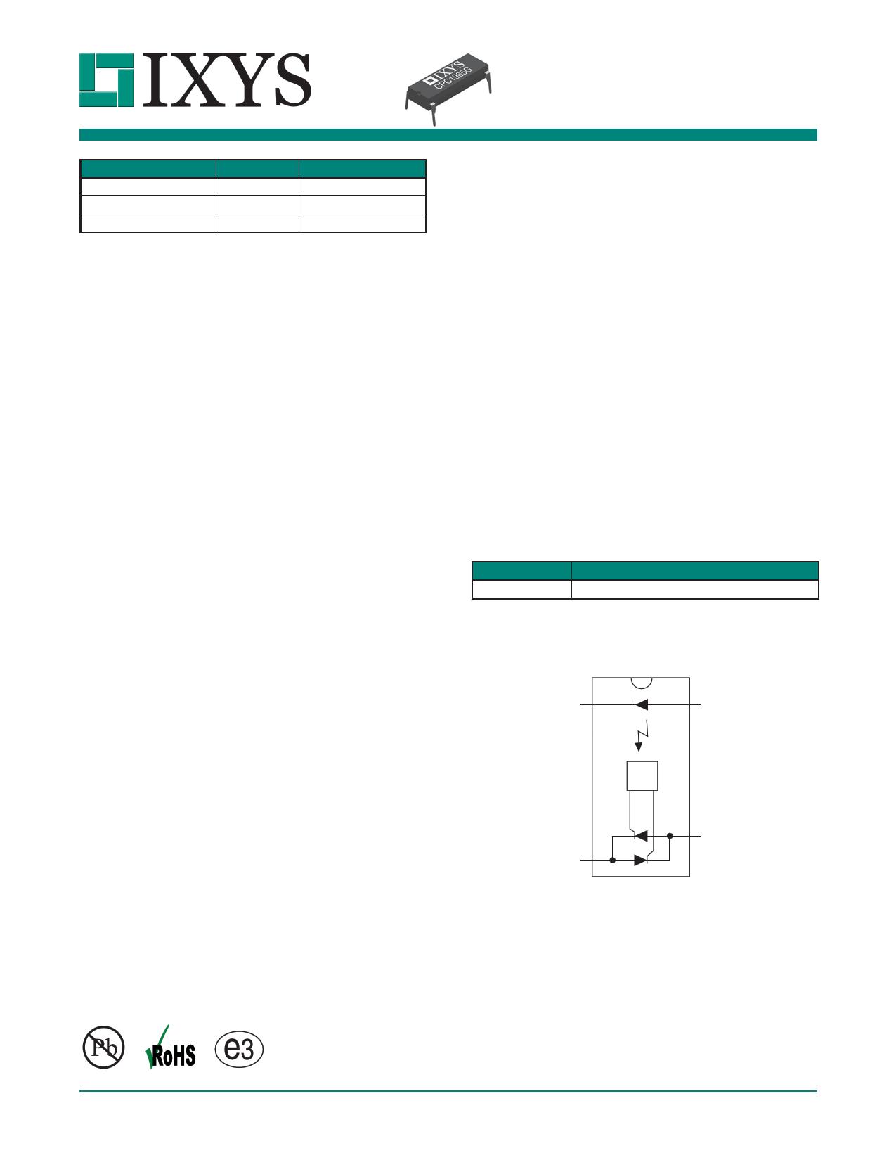 cpc1965g datasheet pdf   pinout