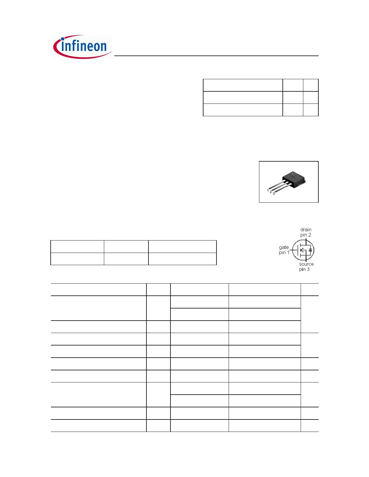 IPI90R1K2C3 datasheet