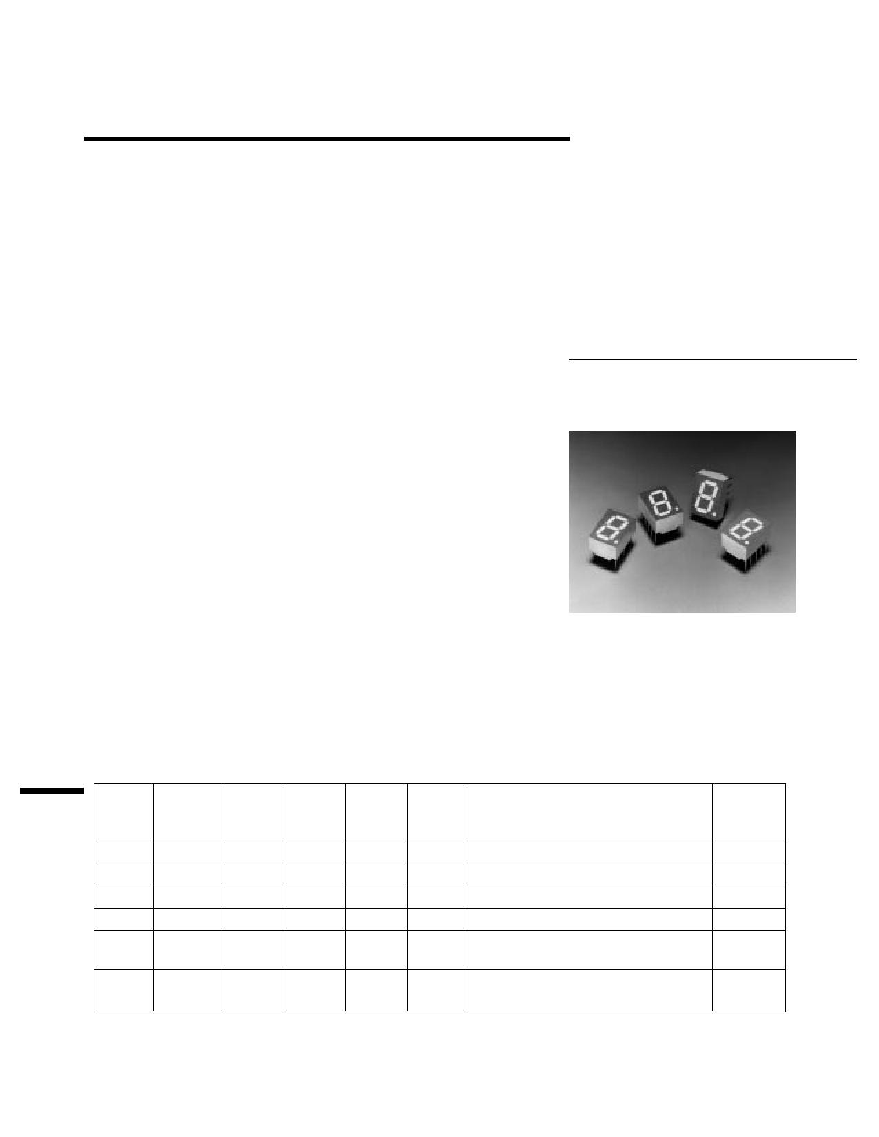 HDSP-G401 دیتاشیت PDF
