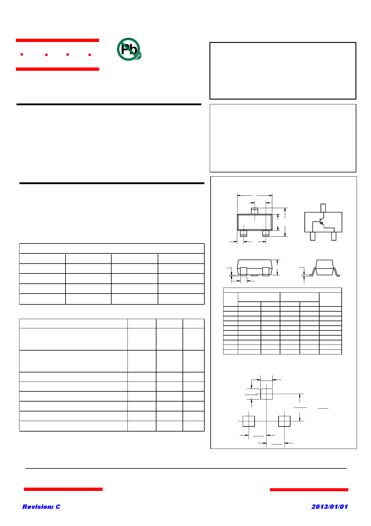 BC856B دیتاشیت PDF