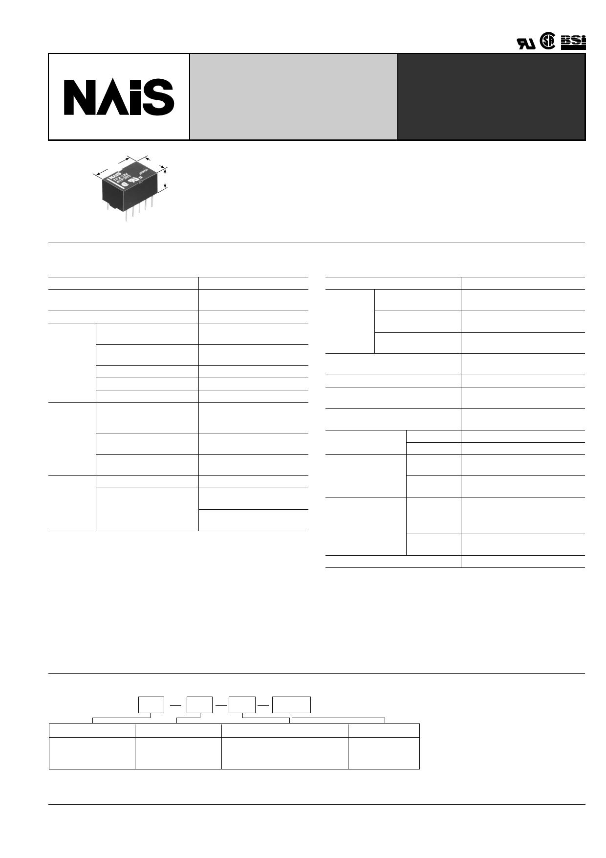 TF2-L2-9V datasheet