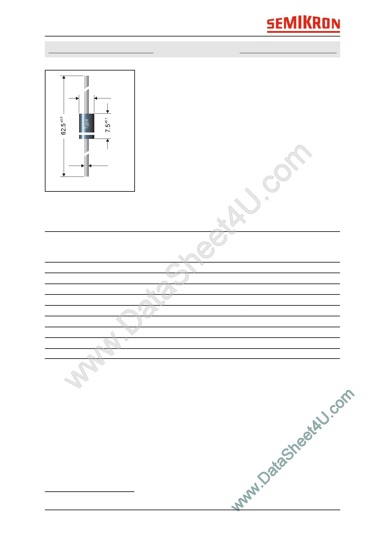 UF5401 datasheet