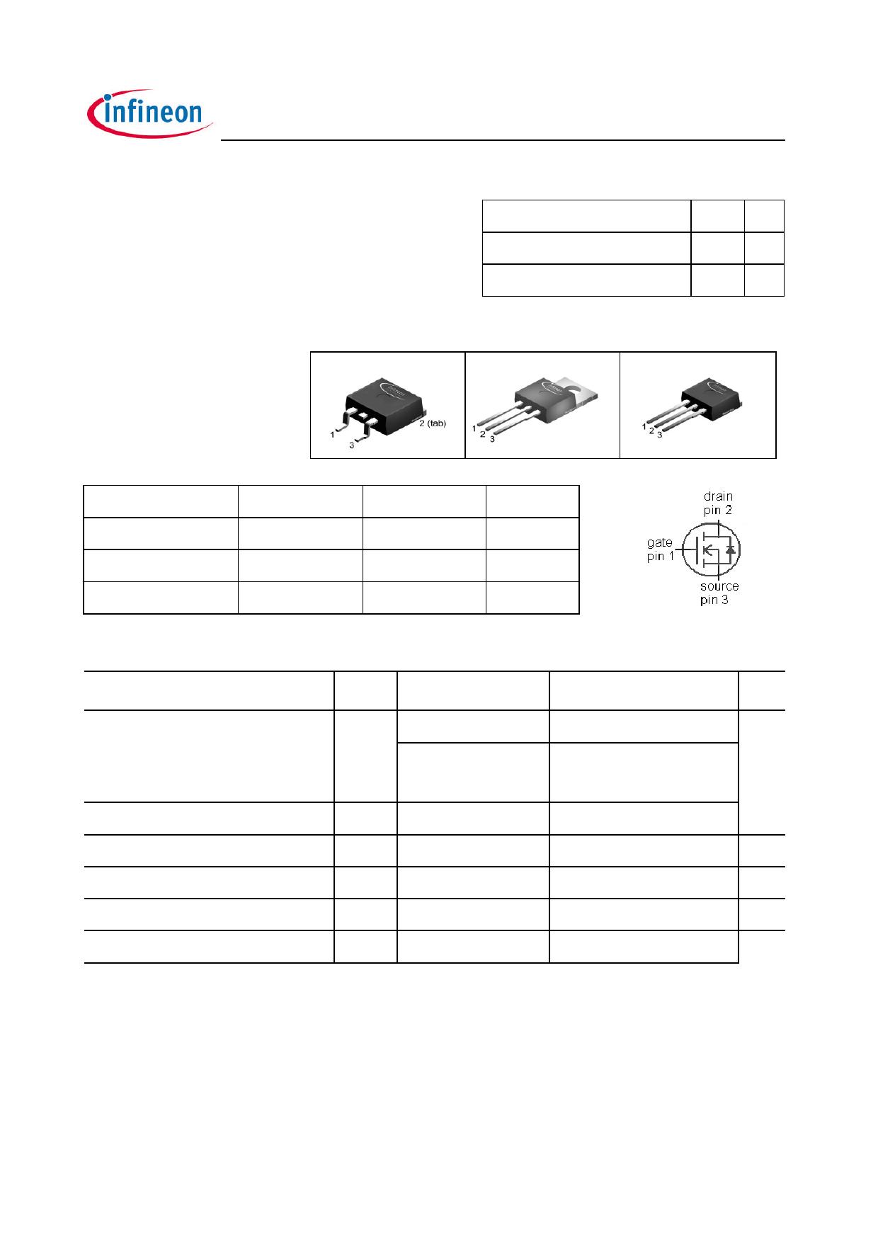 IPP80N06S2L-11 데이터시트 및 IPP80N06S2L-11 PDF