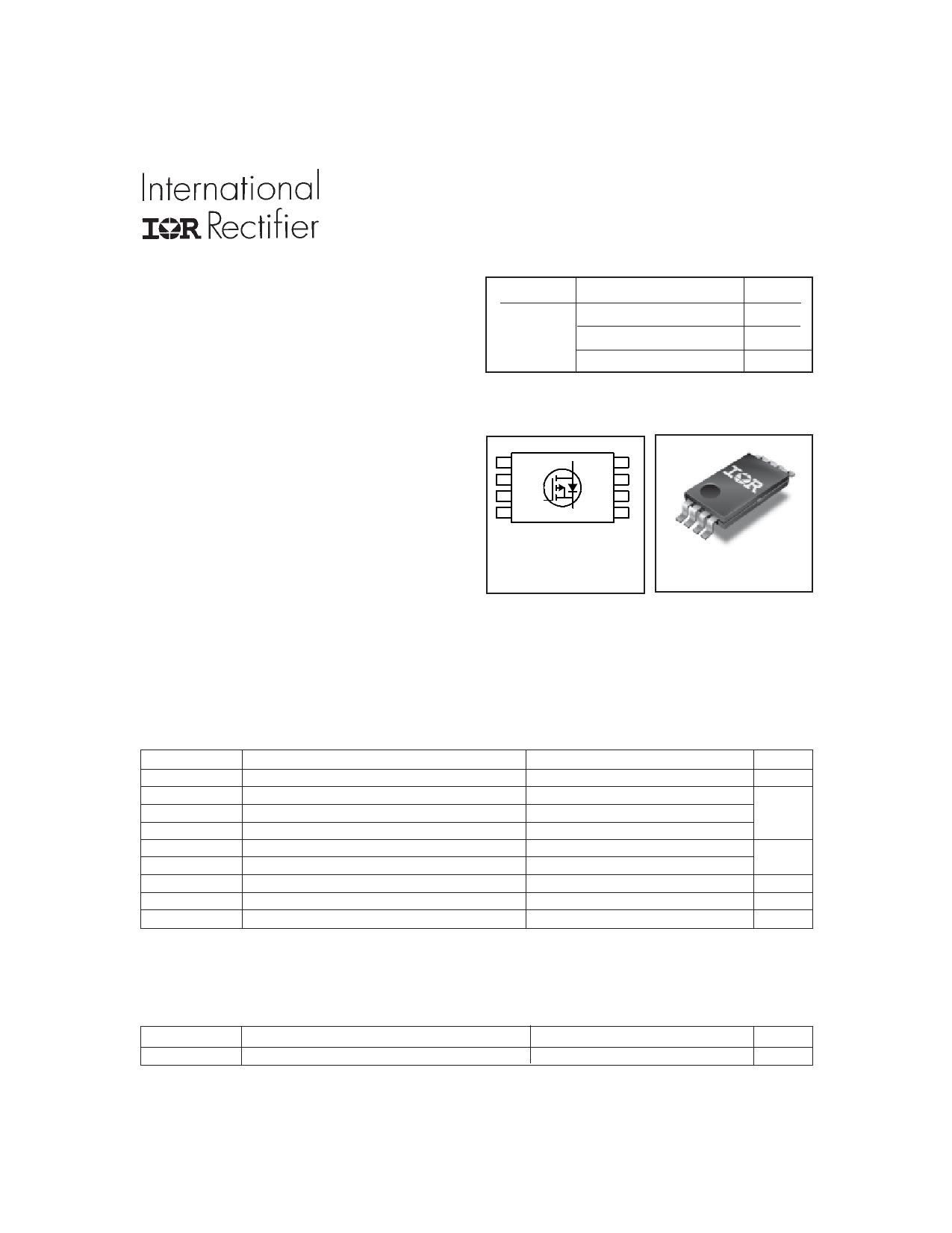 IRF7702PbF دیتاشیت PDF