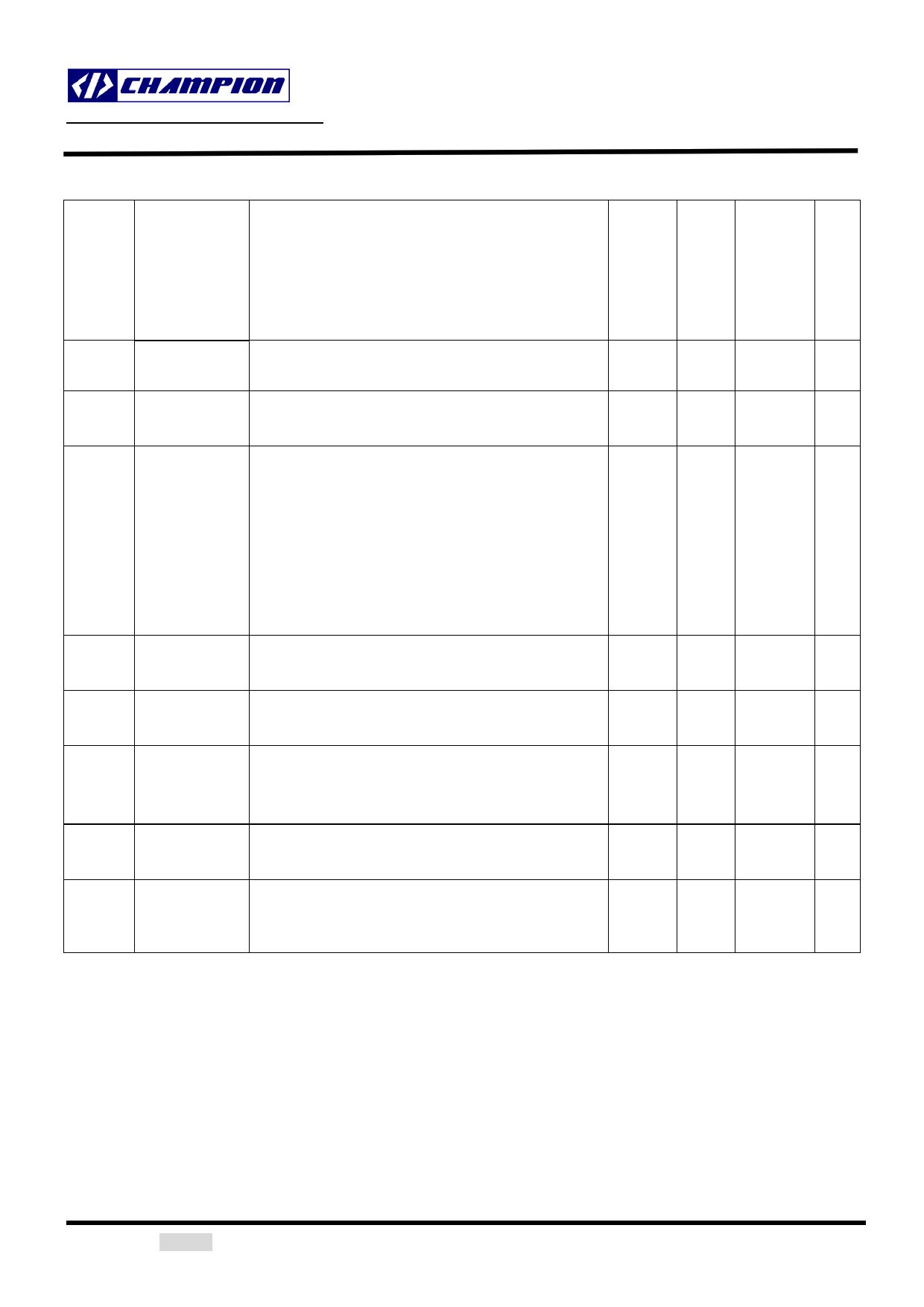 CM6502S pdf, ピン配列