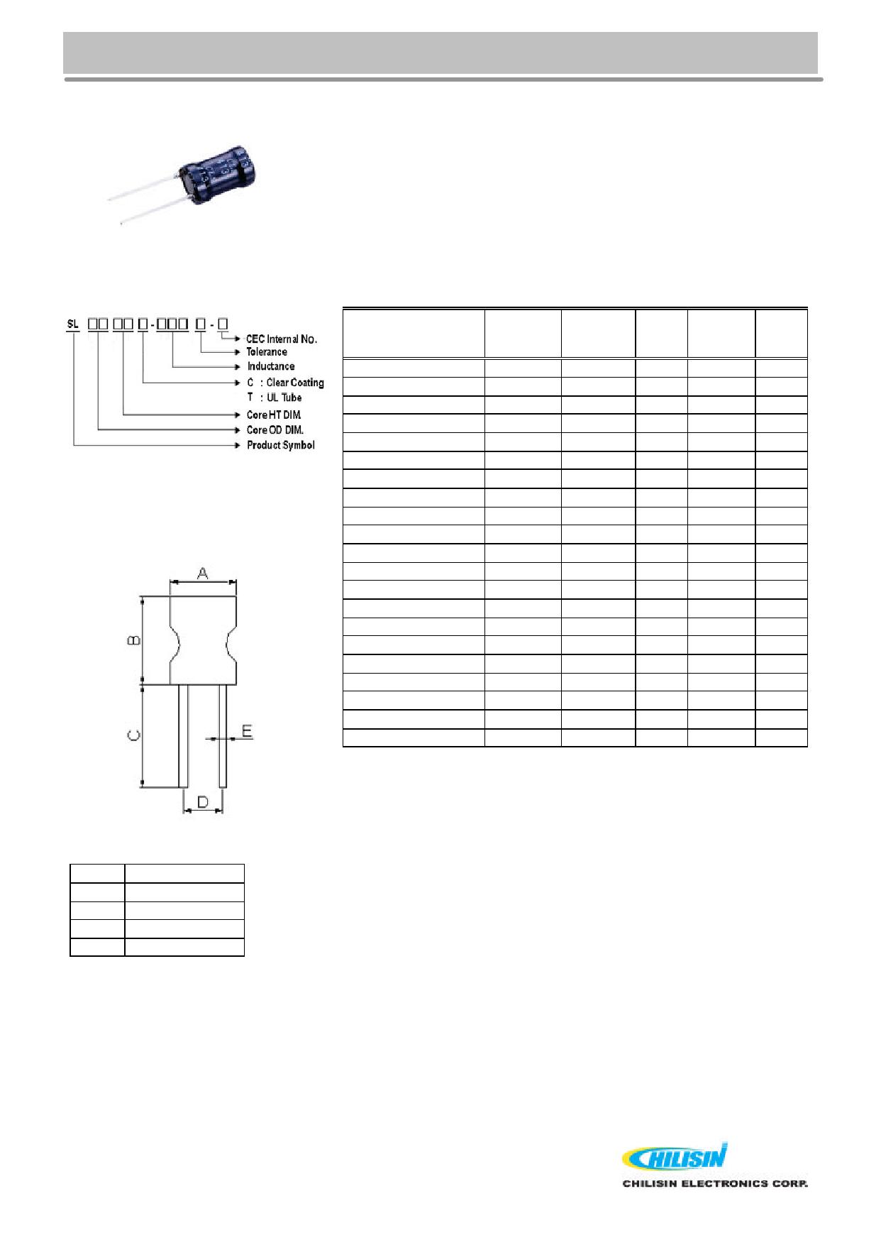 SL0608 데이터시트 및 SL0608 PDF