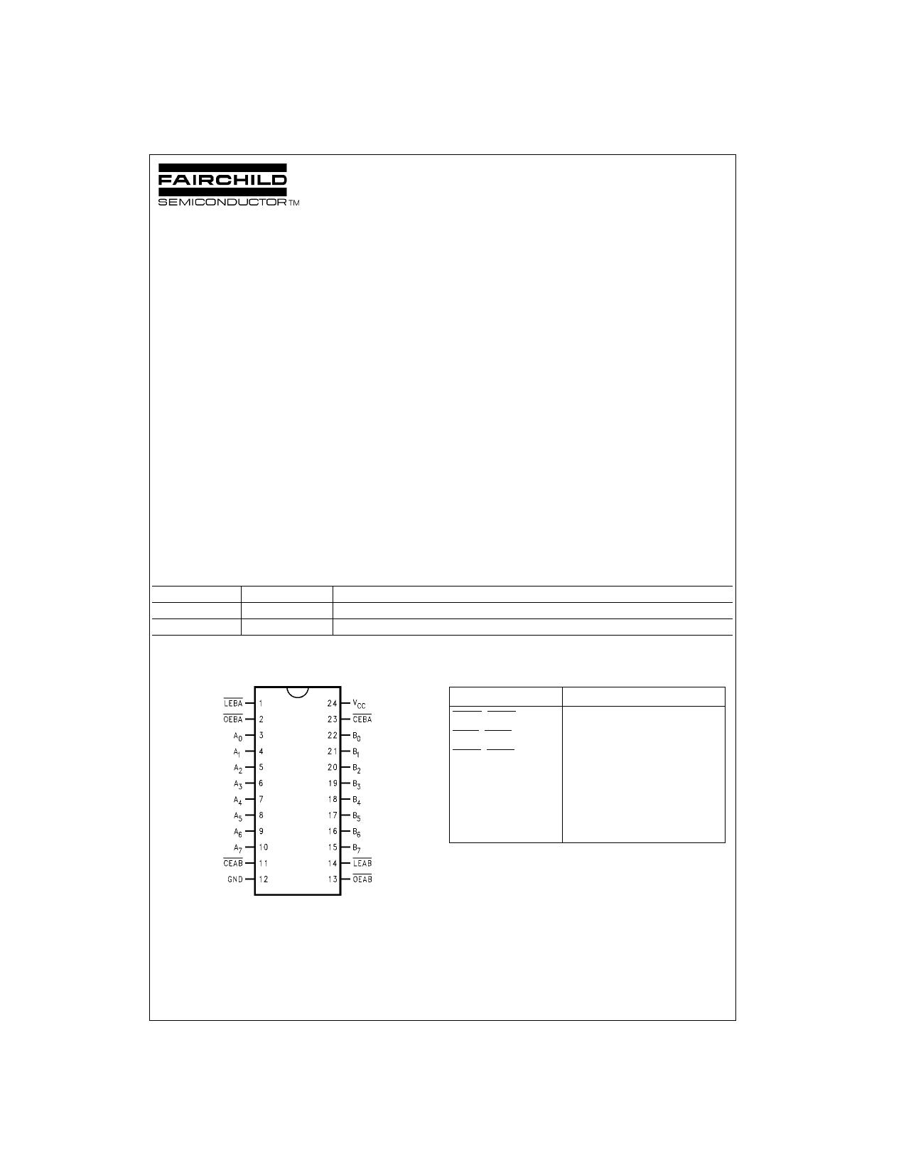 74LVTH543 دیتاشیت PDF