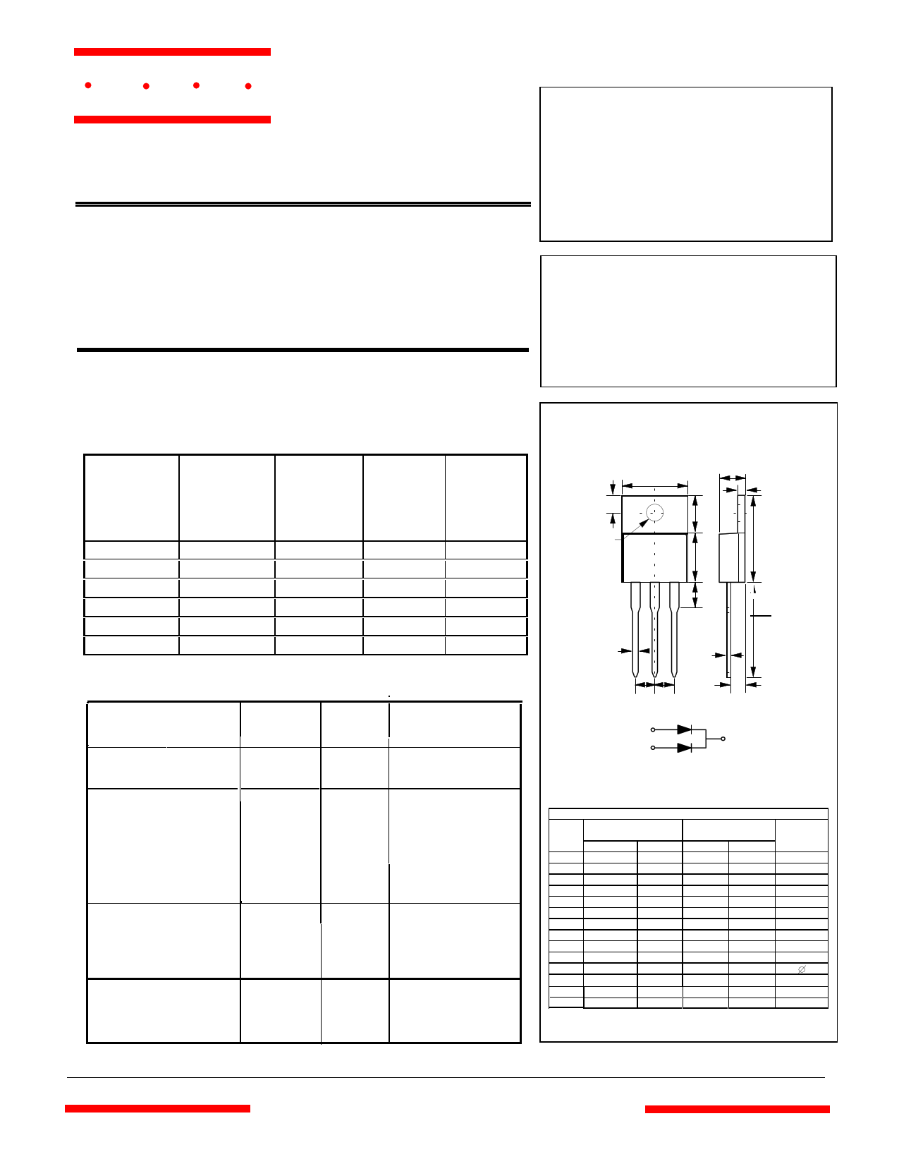 MBR1045CT datasheet
