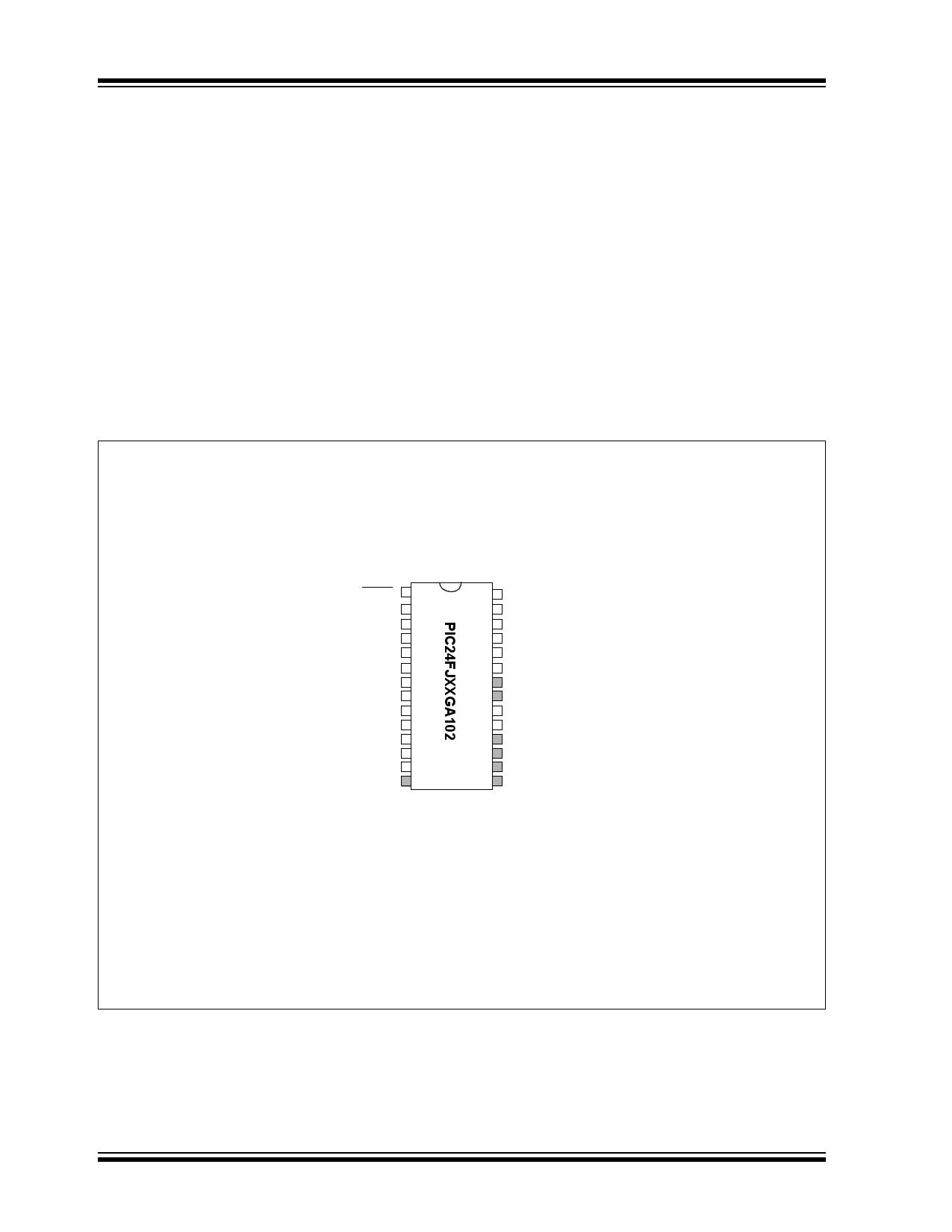 PIC24FJ32GA102 pdf, 반도체, 판매, 대치품