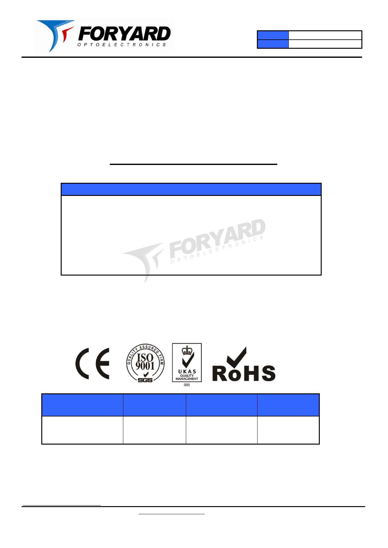 FYD-5621FX دیتاشیت PDF