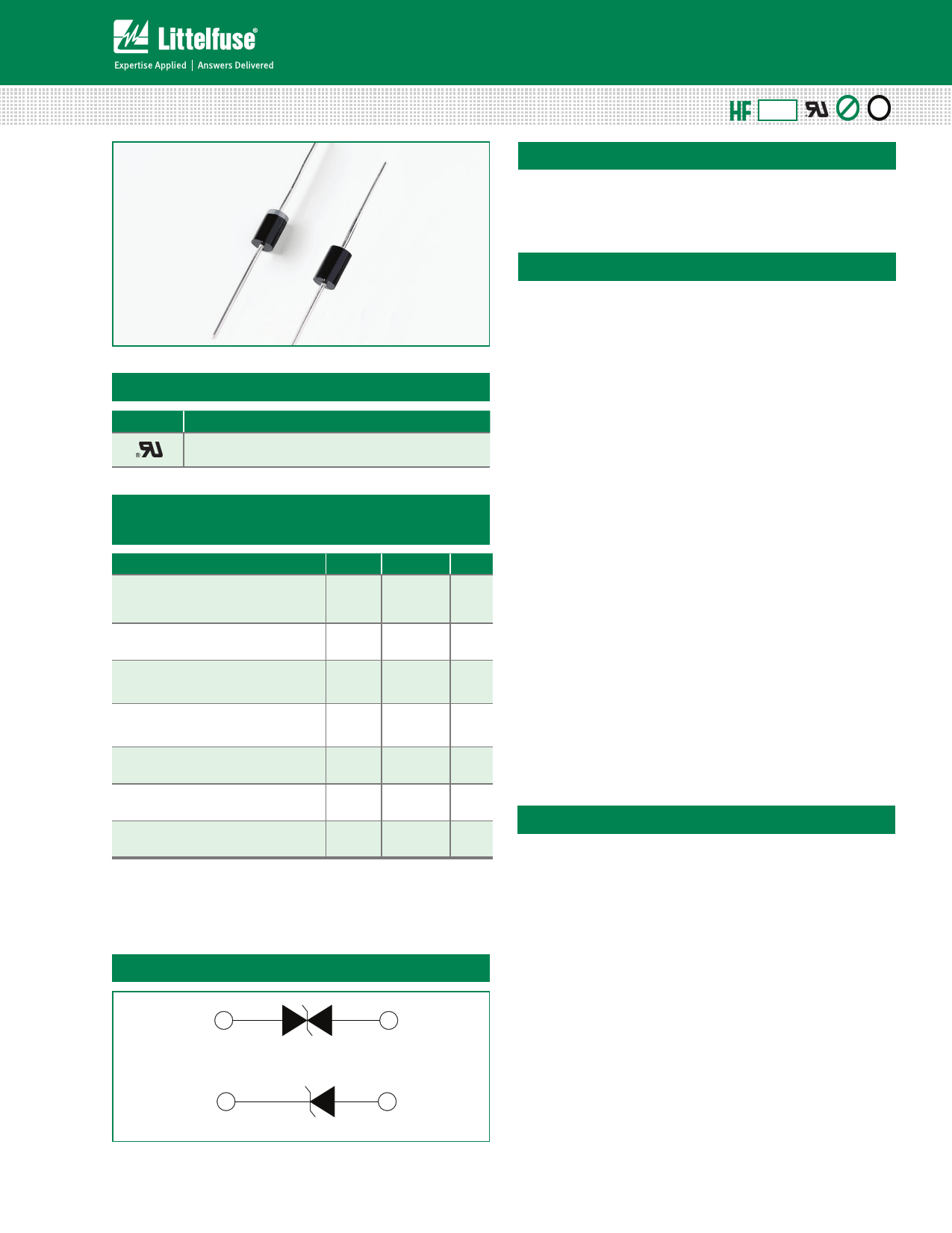 1.5KE11CA datasheet, circuit