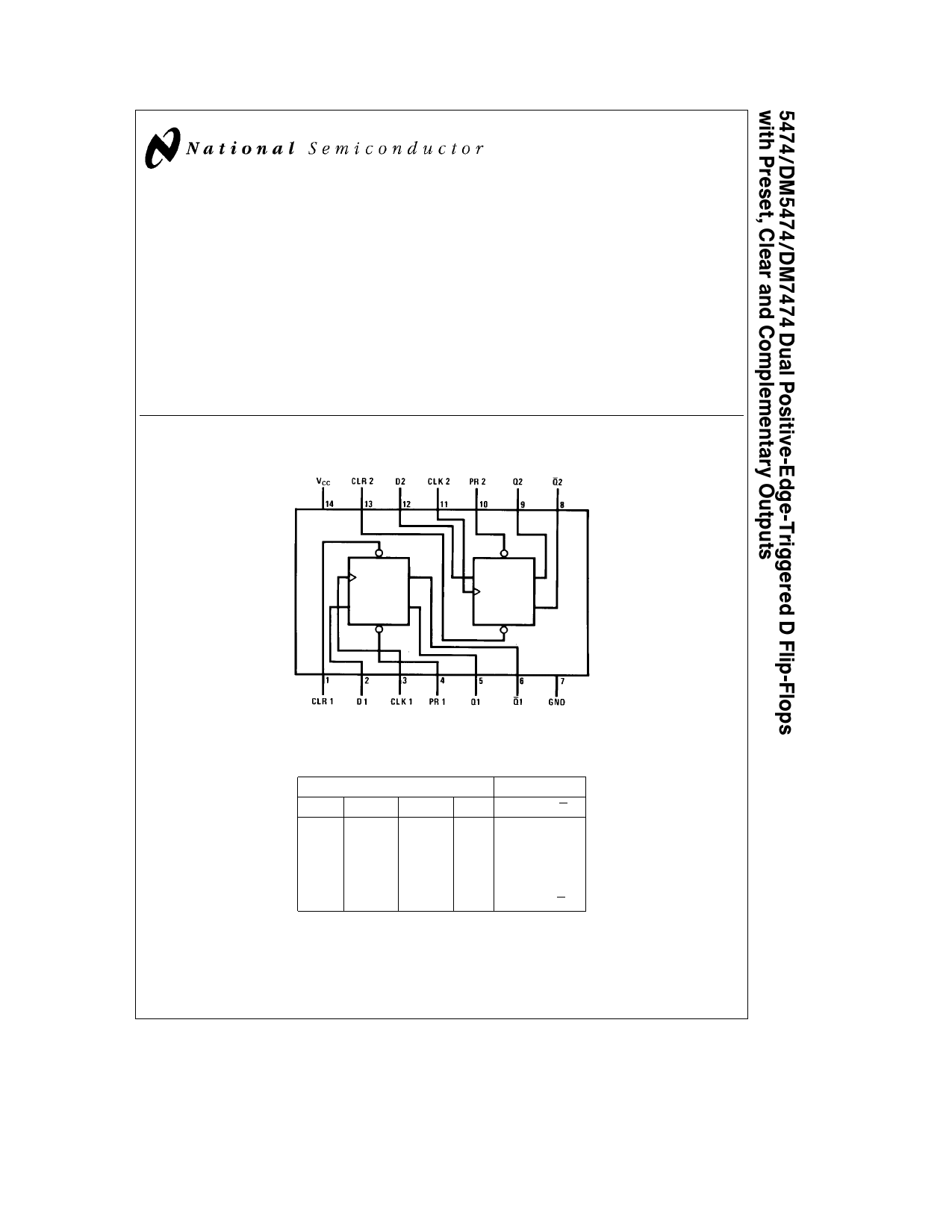 5474 datasheet pdf   pinout