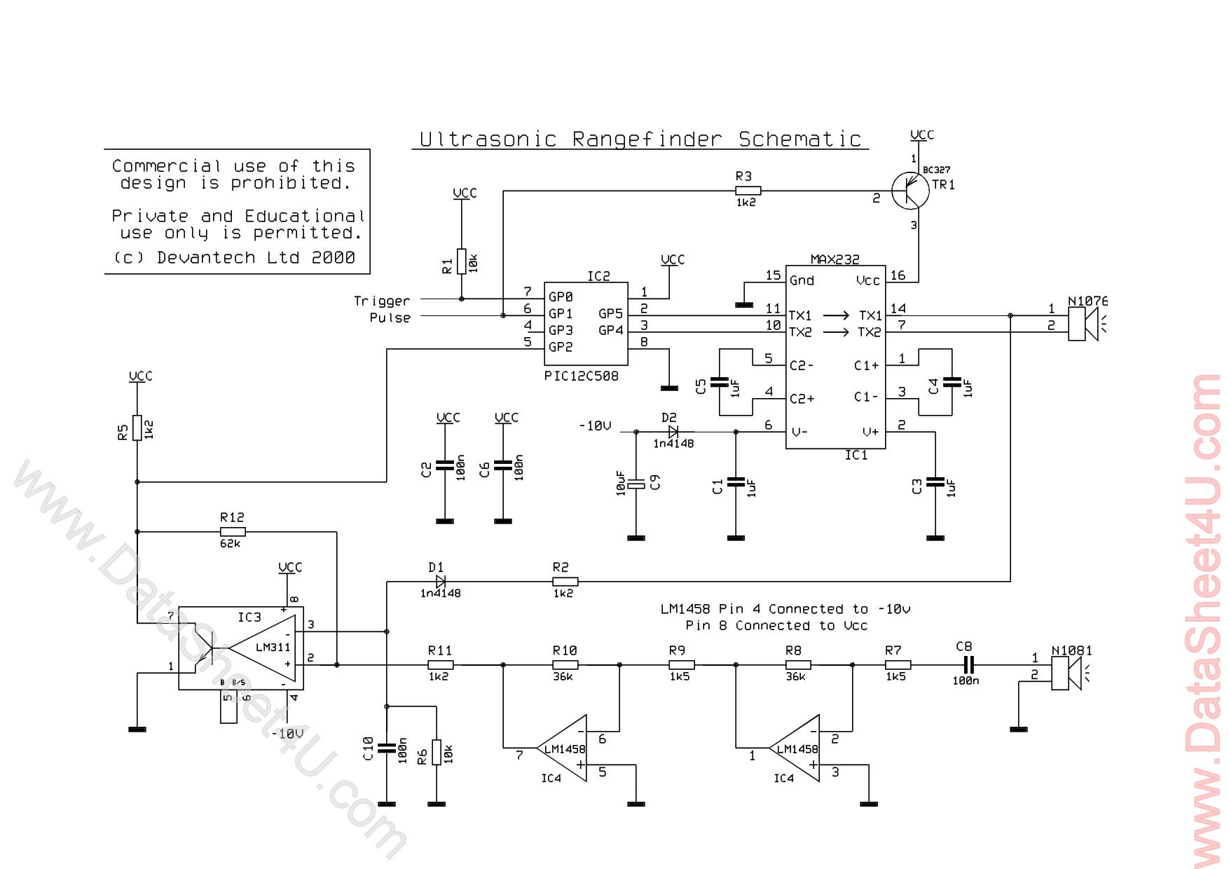Srf04 datasheet