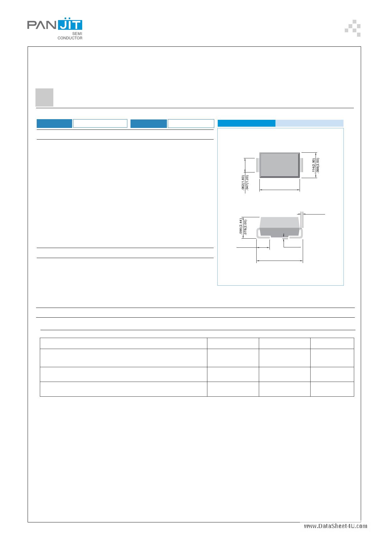 1SMA4729 datasheet
