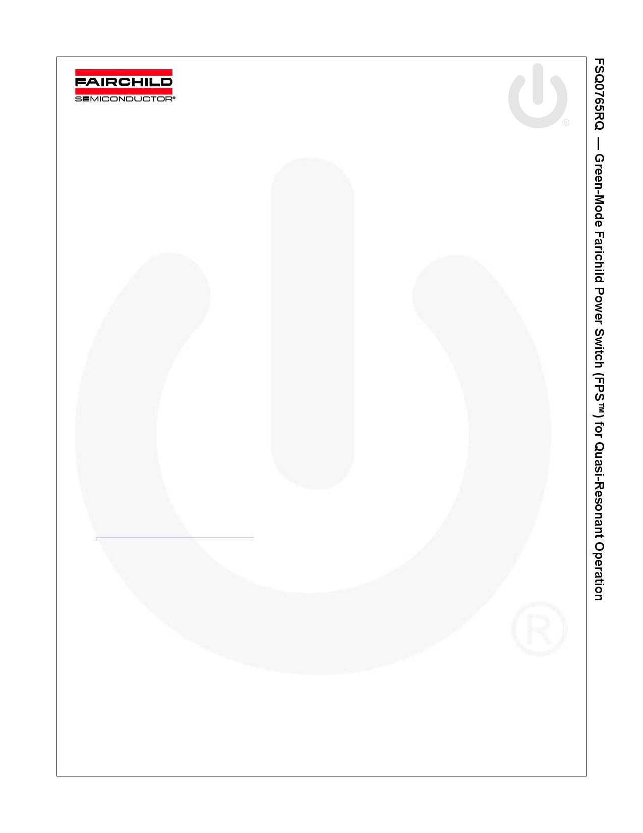 Q0765RQ datasheet