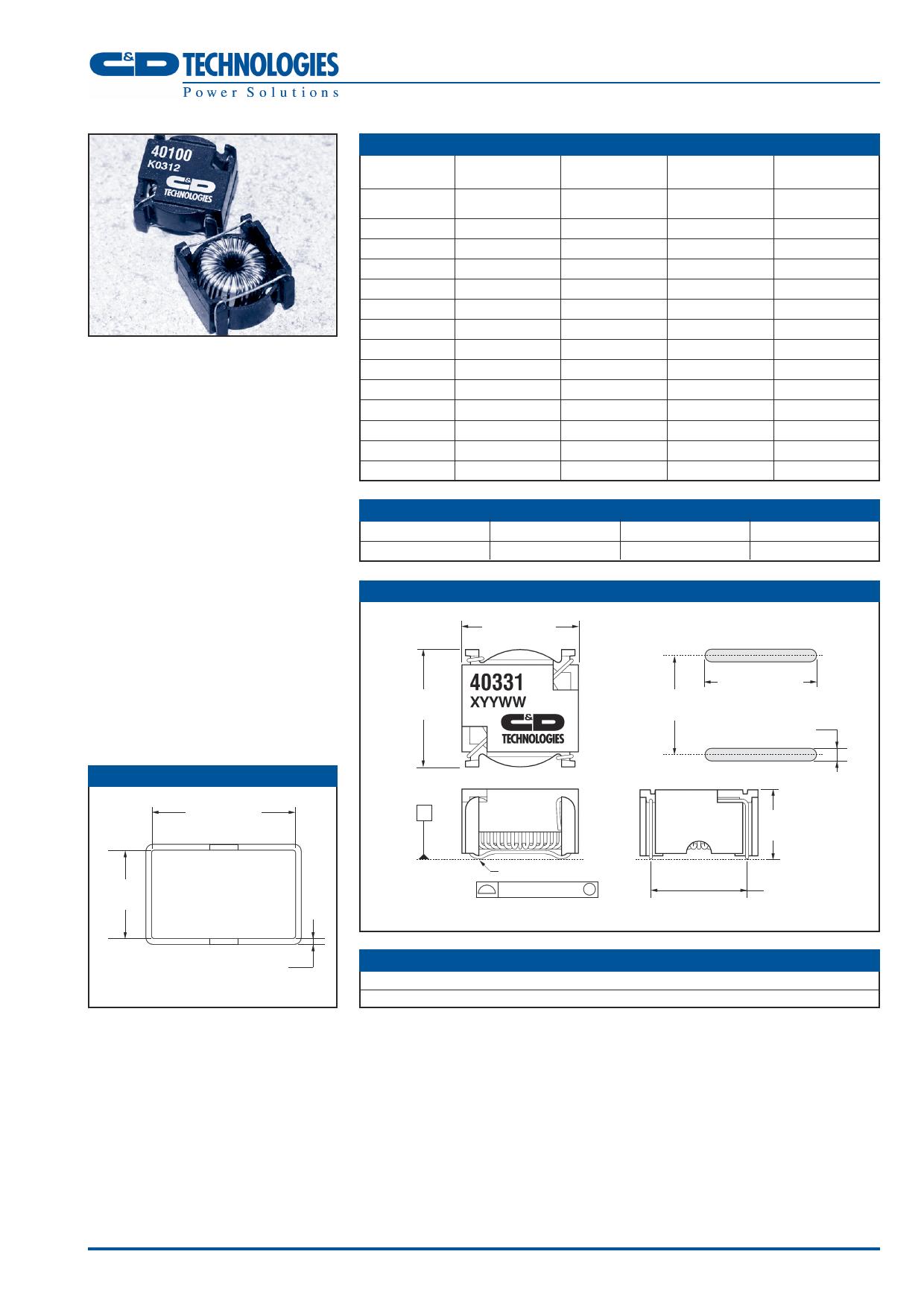 40100 دیتاشیت PDF