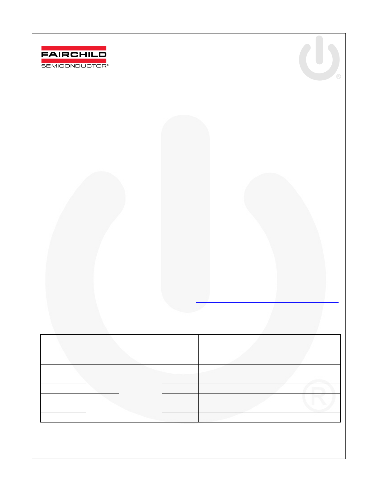 FSFR1800US datasheet