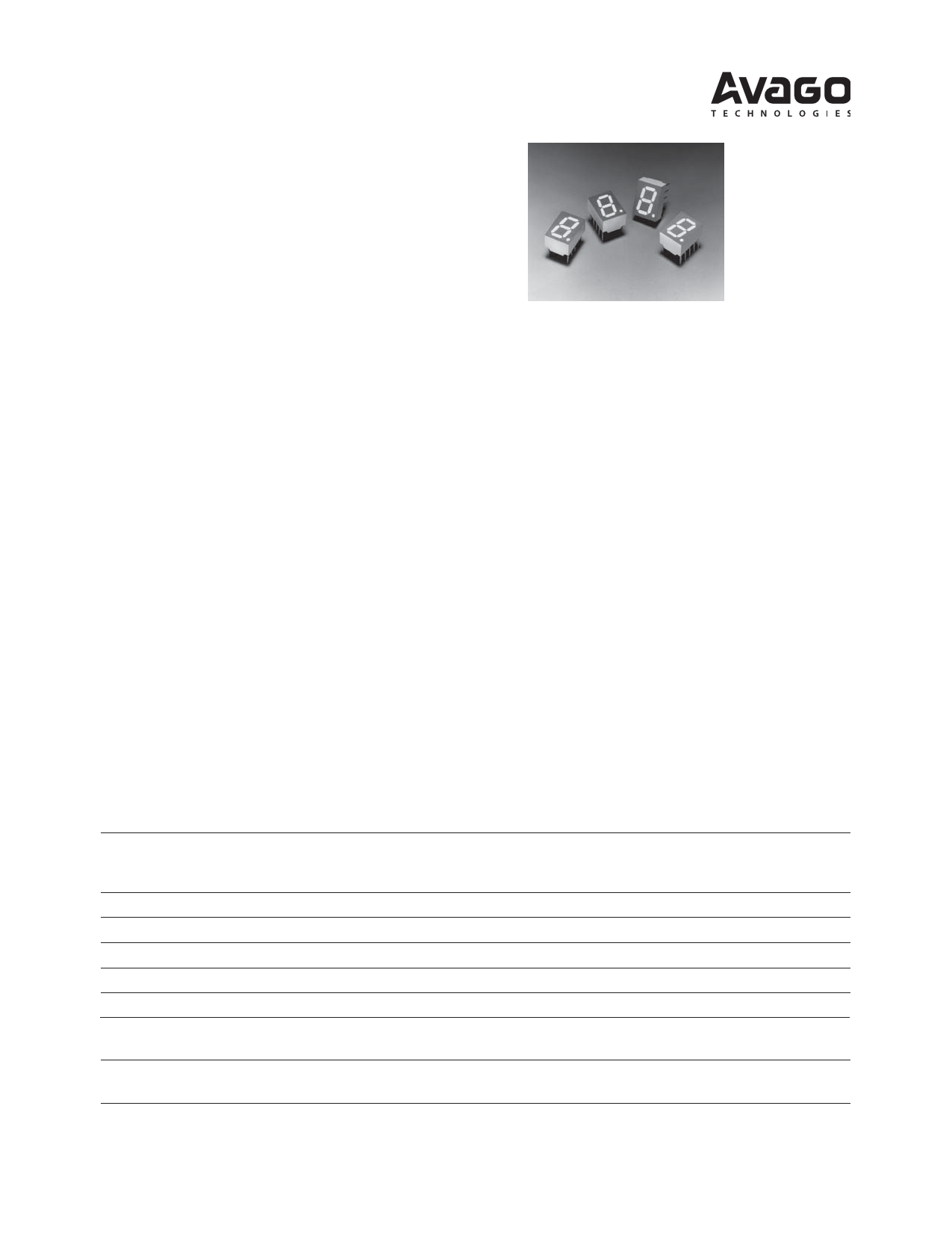 HDSP-F503 دیتاشیت PDF