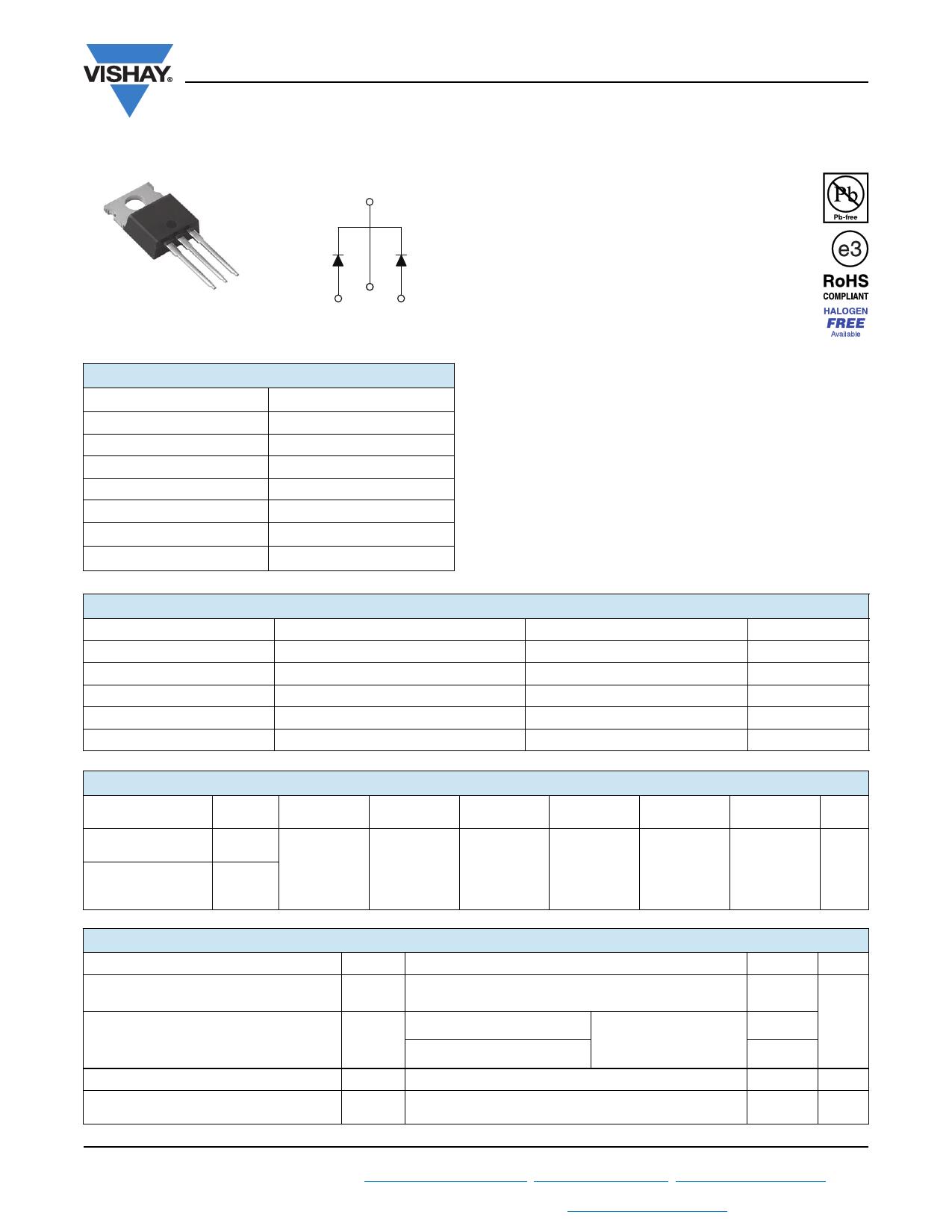 VS-20CTQ035-N3 datasheet