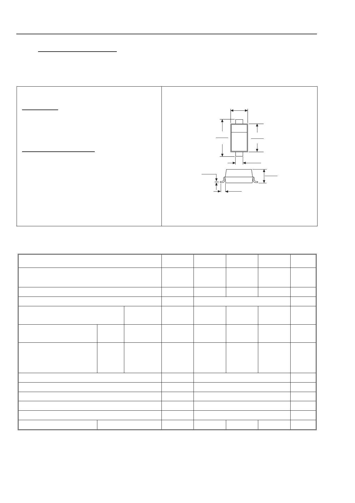 B0530W datasheet
