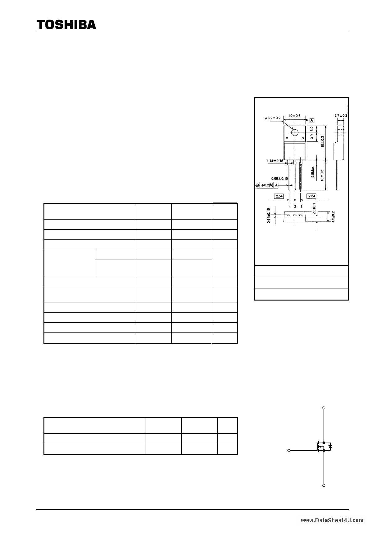 K10A60D دیتاشیت PDF
