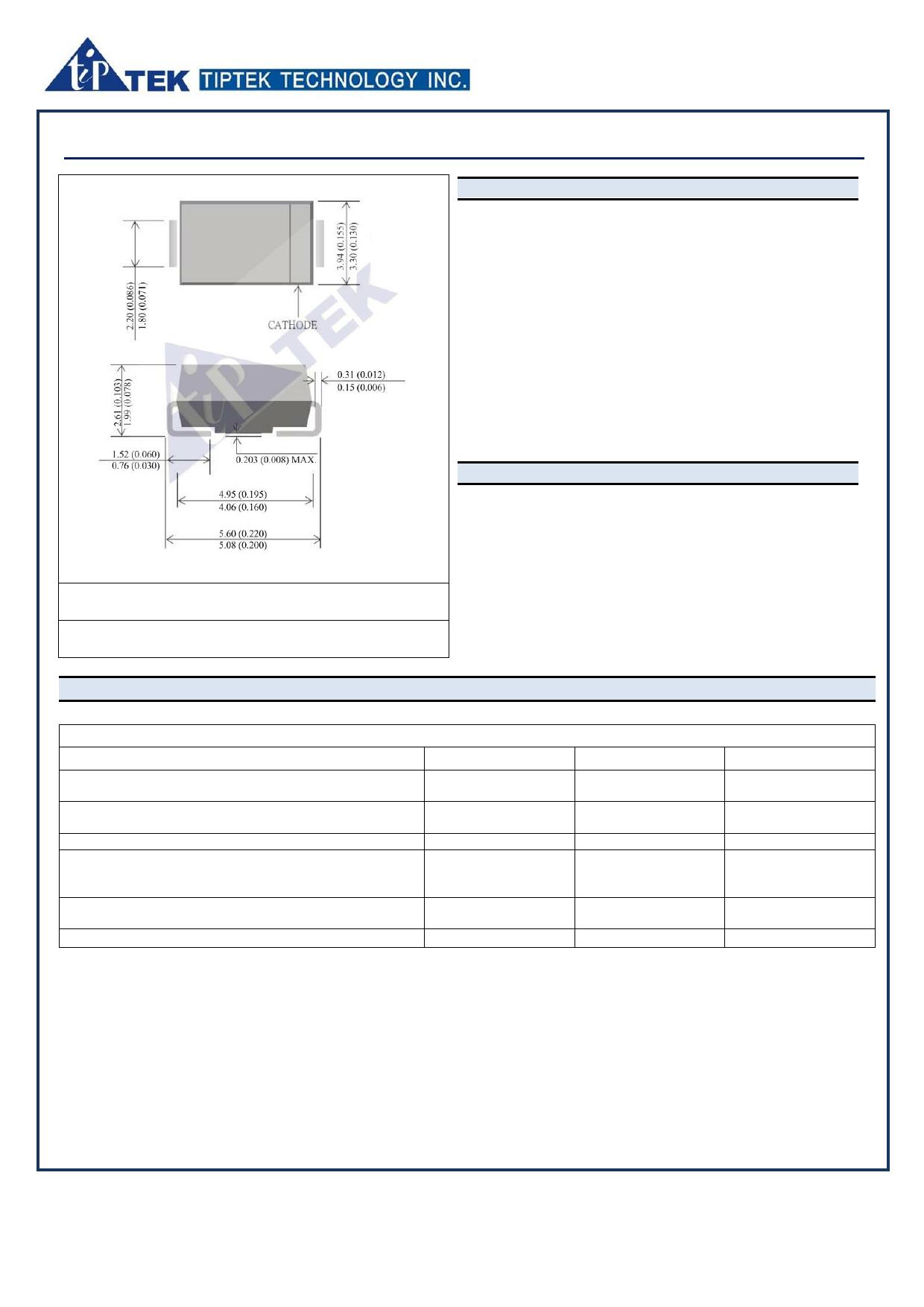 P6SMBJ54C دیتاشیت PDF