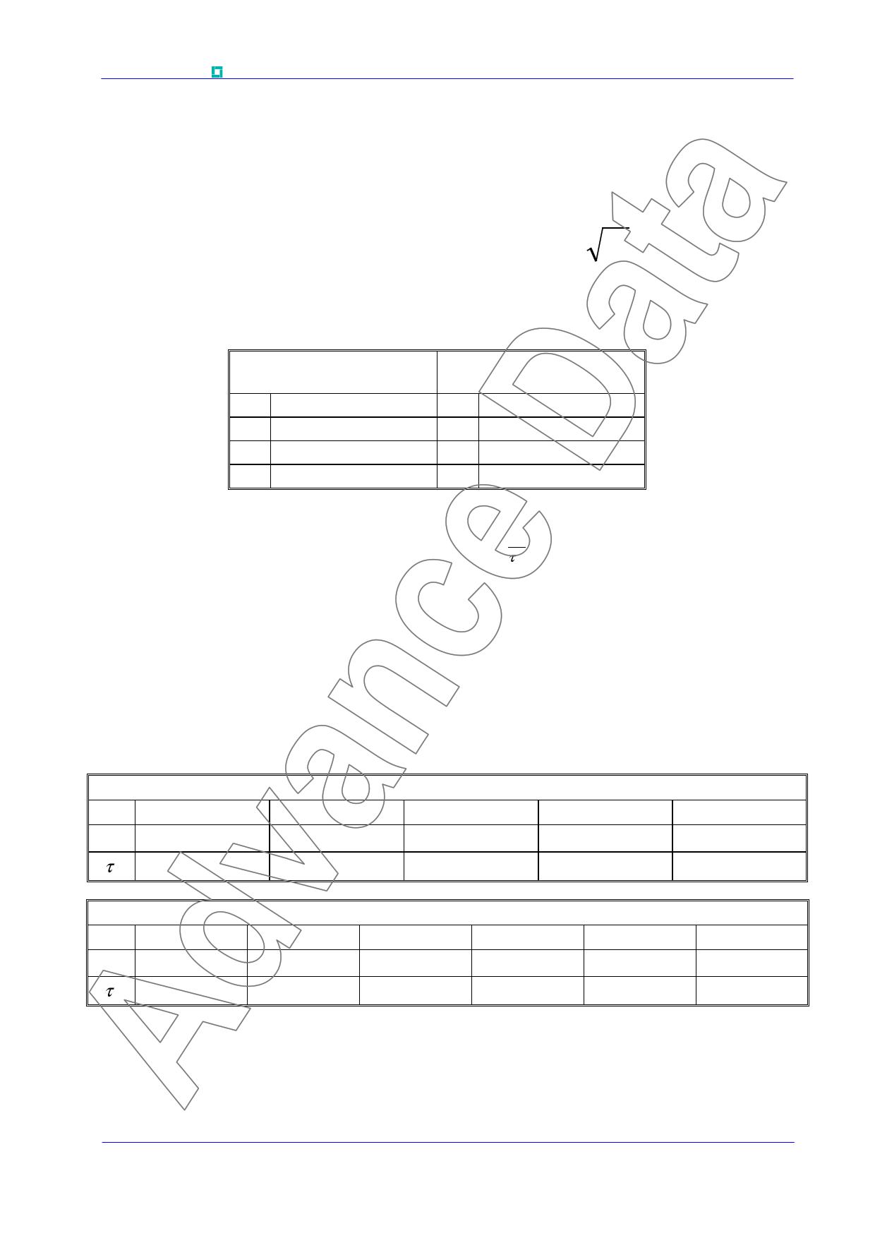 K0885NC500 pdf