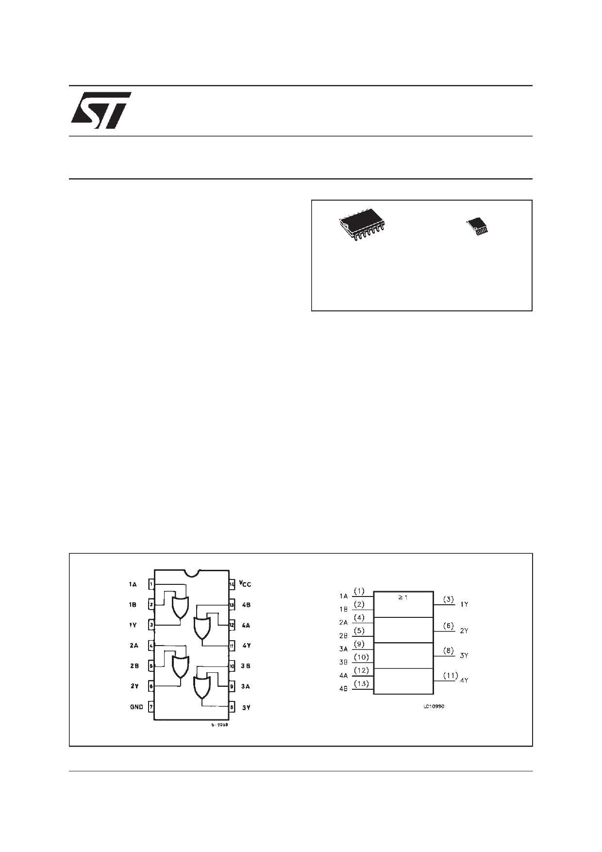 74VHC32 دیتاشیت PDF