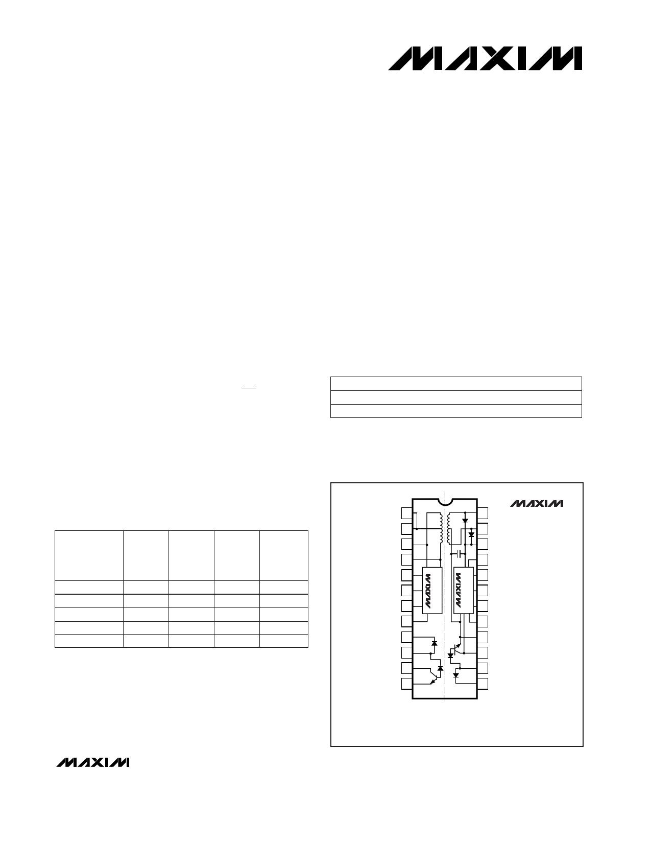 MAXB Datasheet PDF