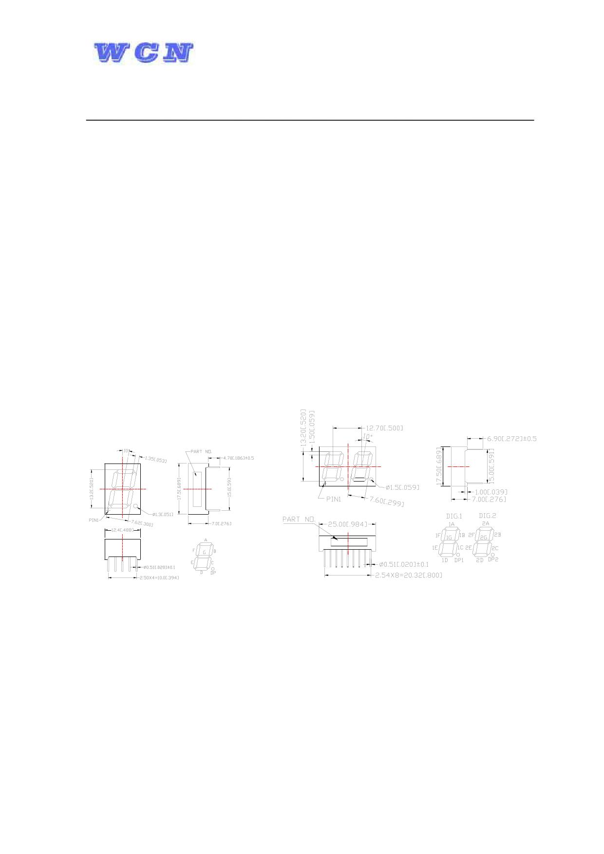 WCN4-0052GU-A11 datasheet