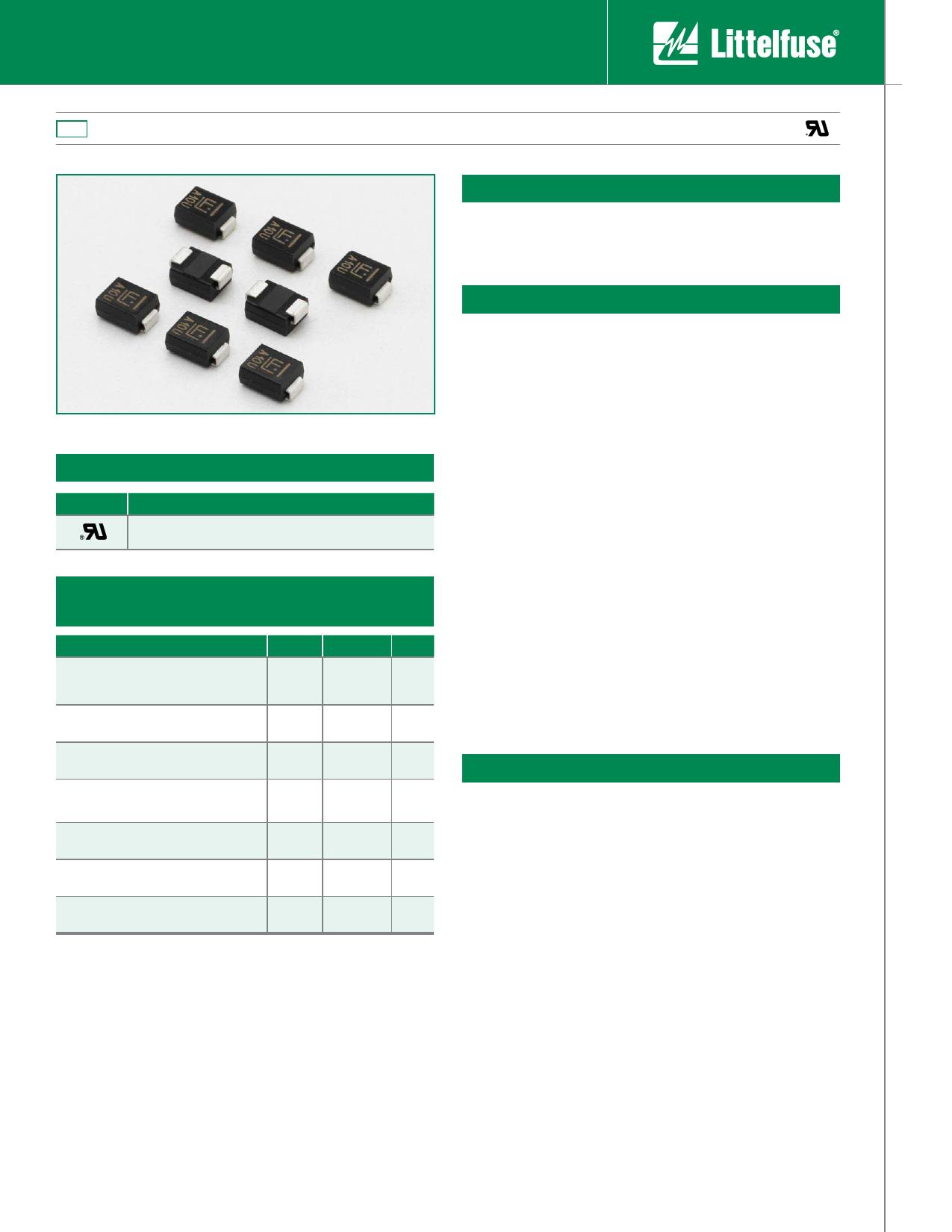 1KSMB15CA دیتاشیت PDF