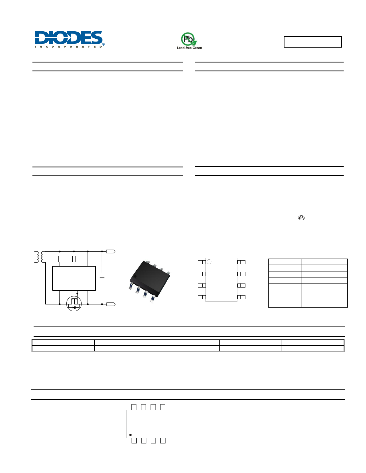 ZXGD3107N8 datasheet