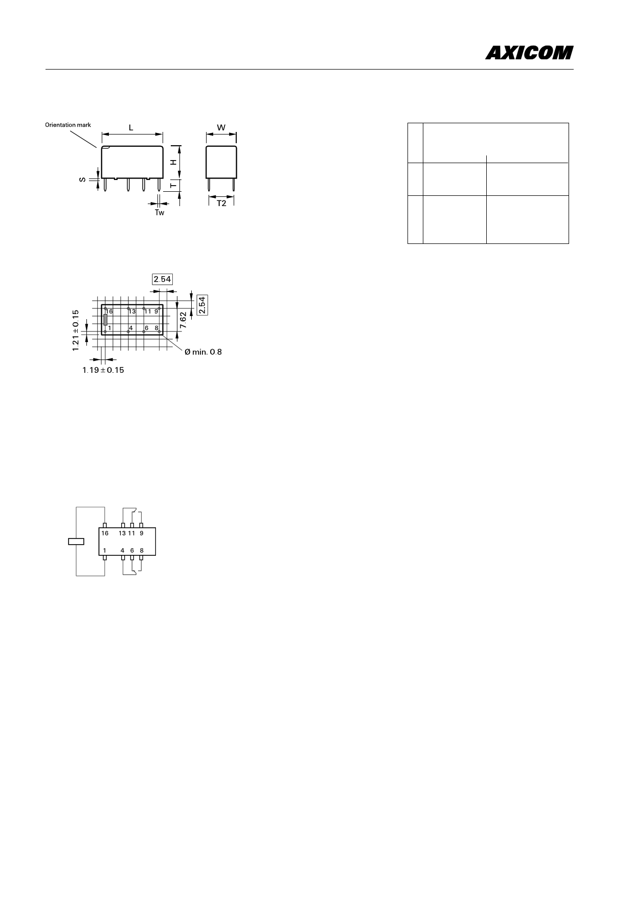 1-1462000-3 Даташит, Описание, Даташиты