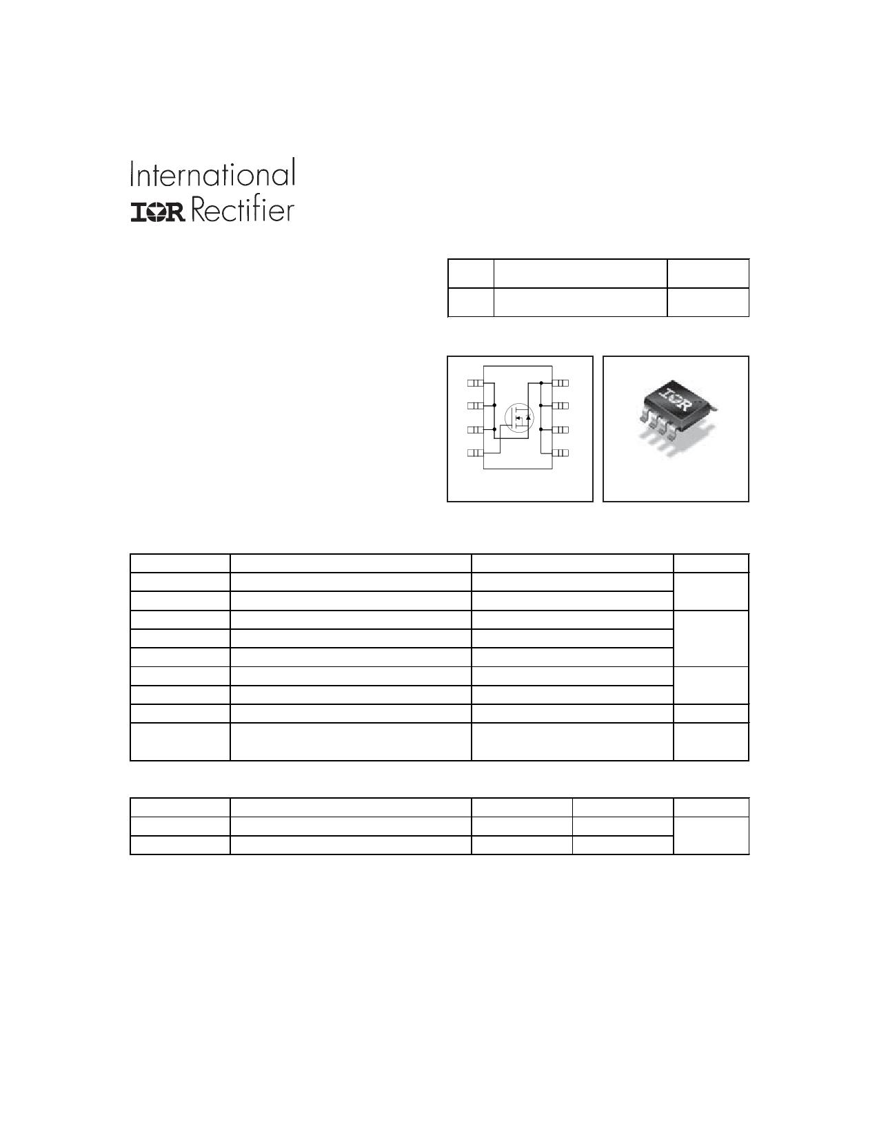 IRF7834 Datasheet, IRF7834 PDF,ピン配置, 機能