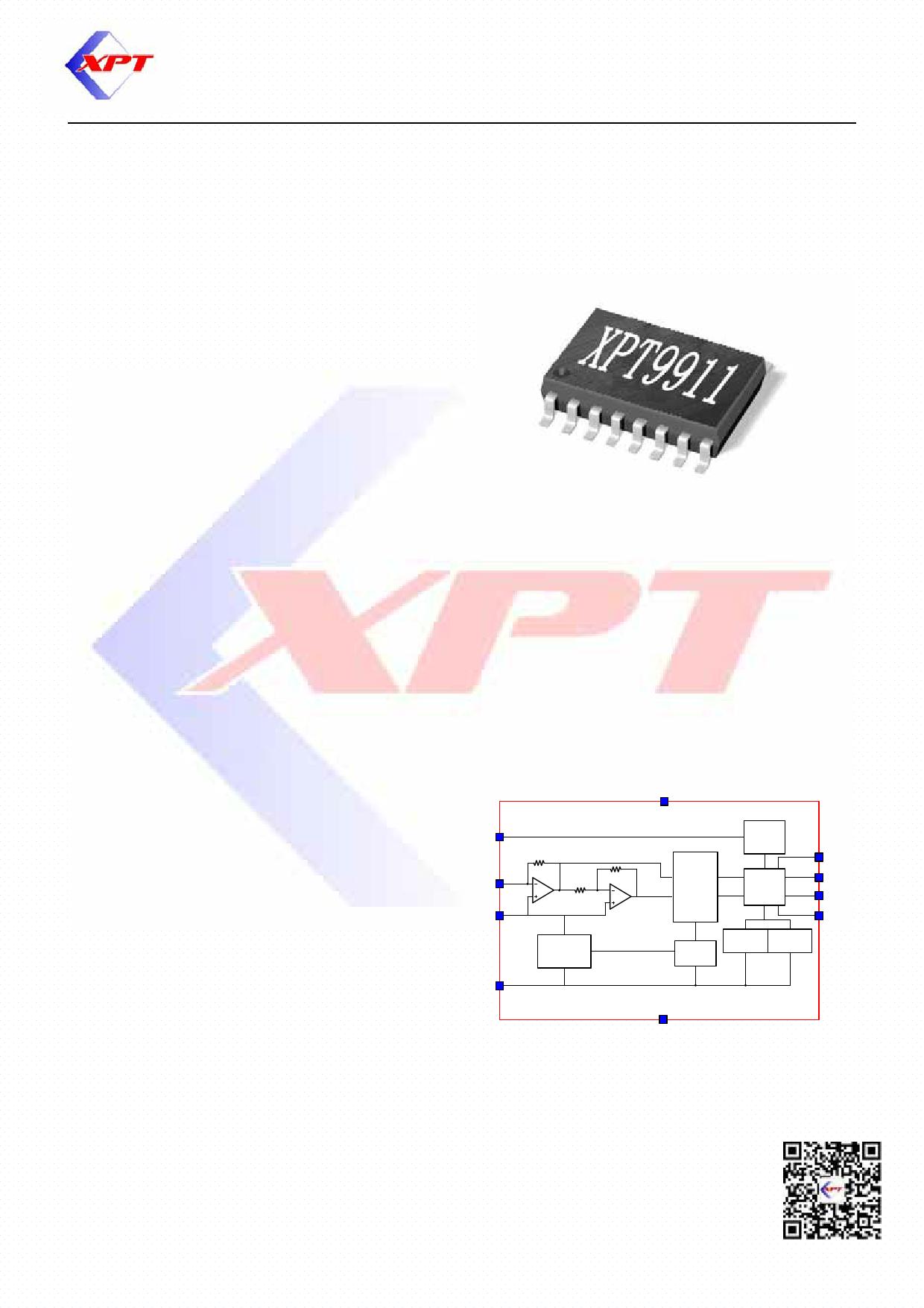 XPT9911 datasheet, circuit