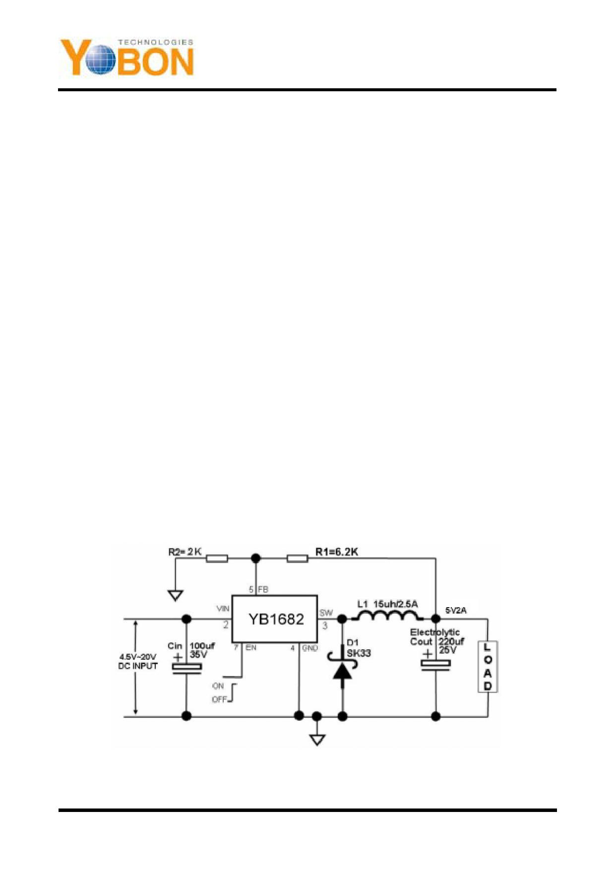 YB1682 دیتاشیت PDF