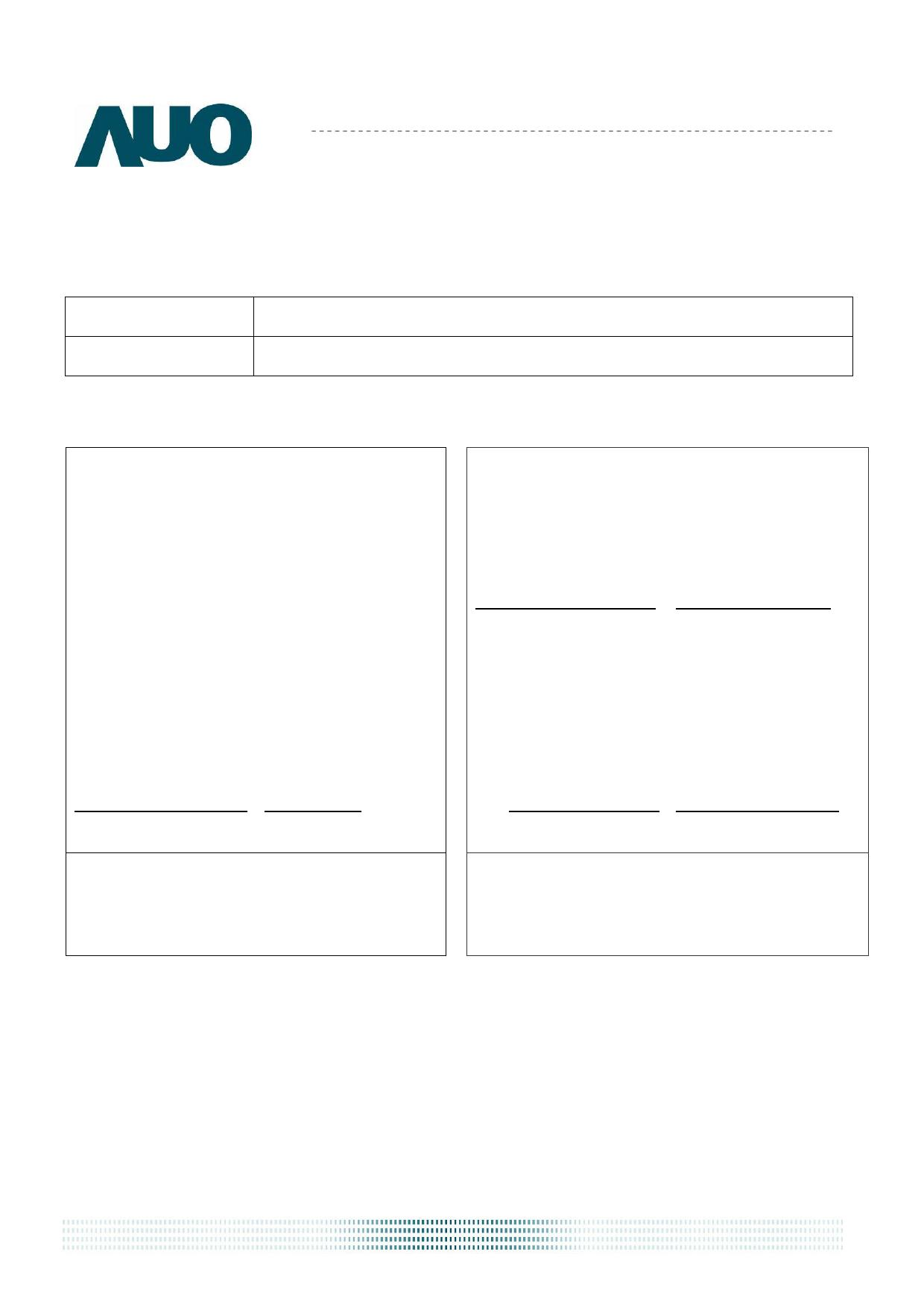 G085VW01_V3 دیتاشیت PDF
