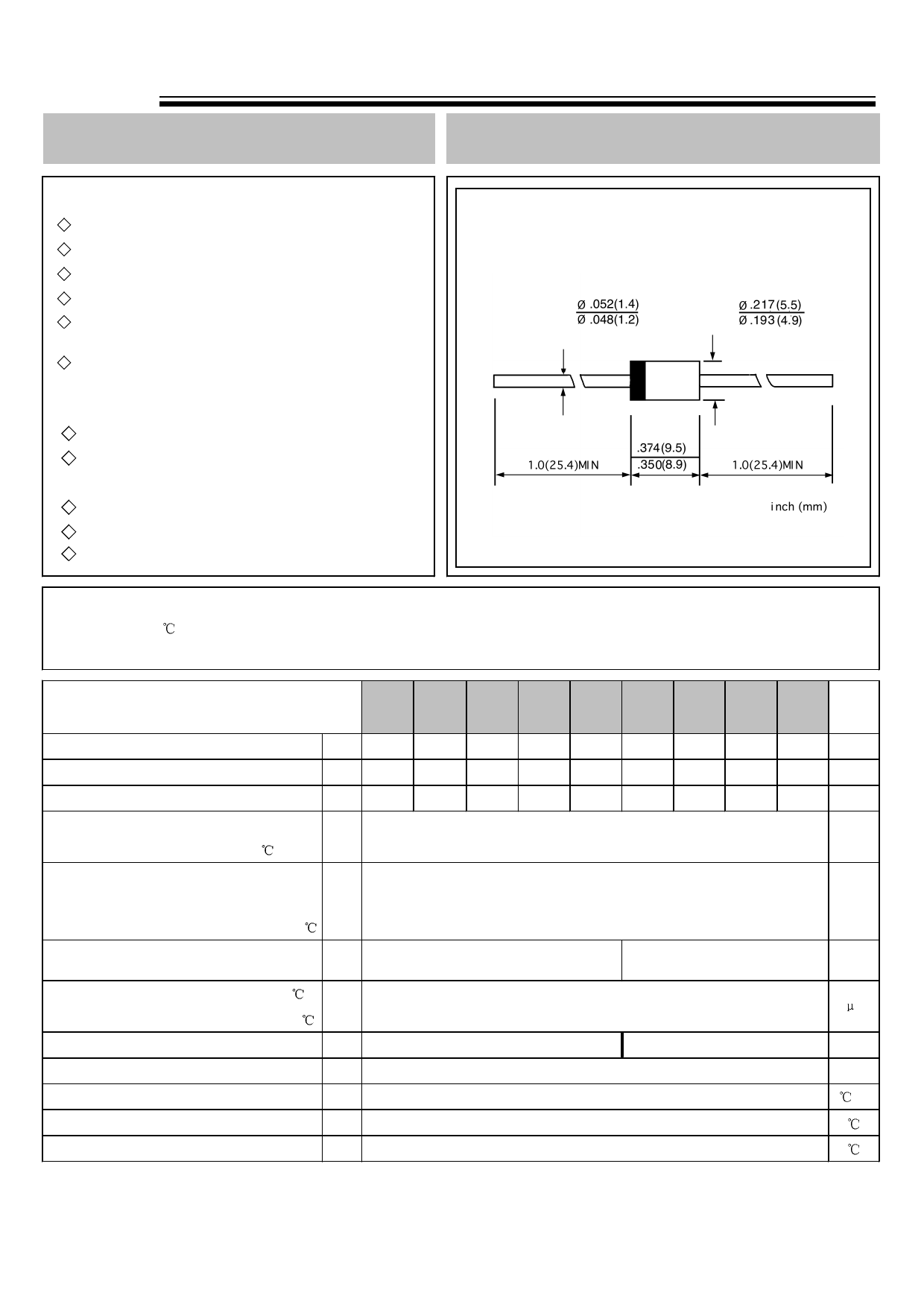 UF5400G datasheet