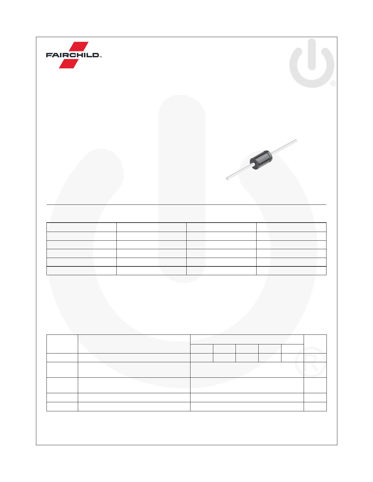 1N5401 Datasheet, 1N5401 PDF,ピン配置, 機能