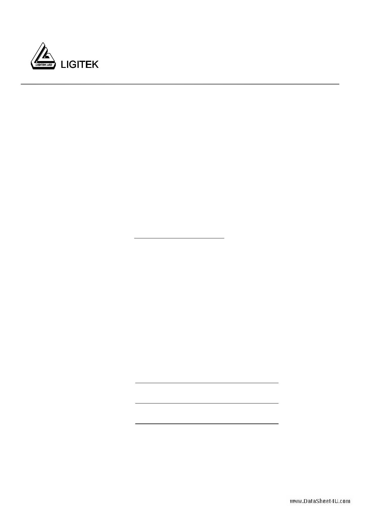 L-00501VY-S Hoja de datos, Descripción, Manual